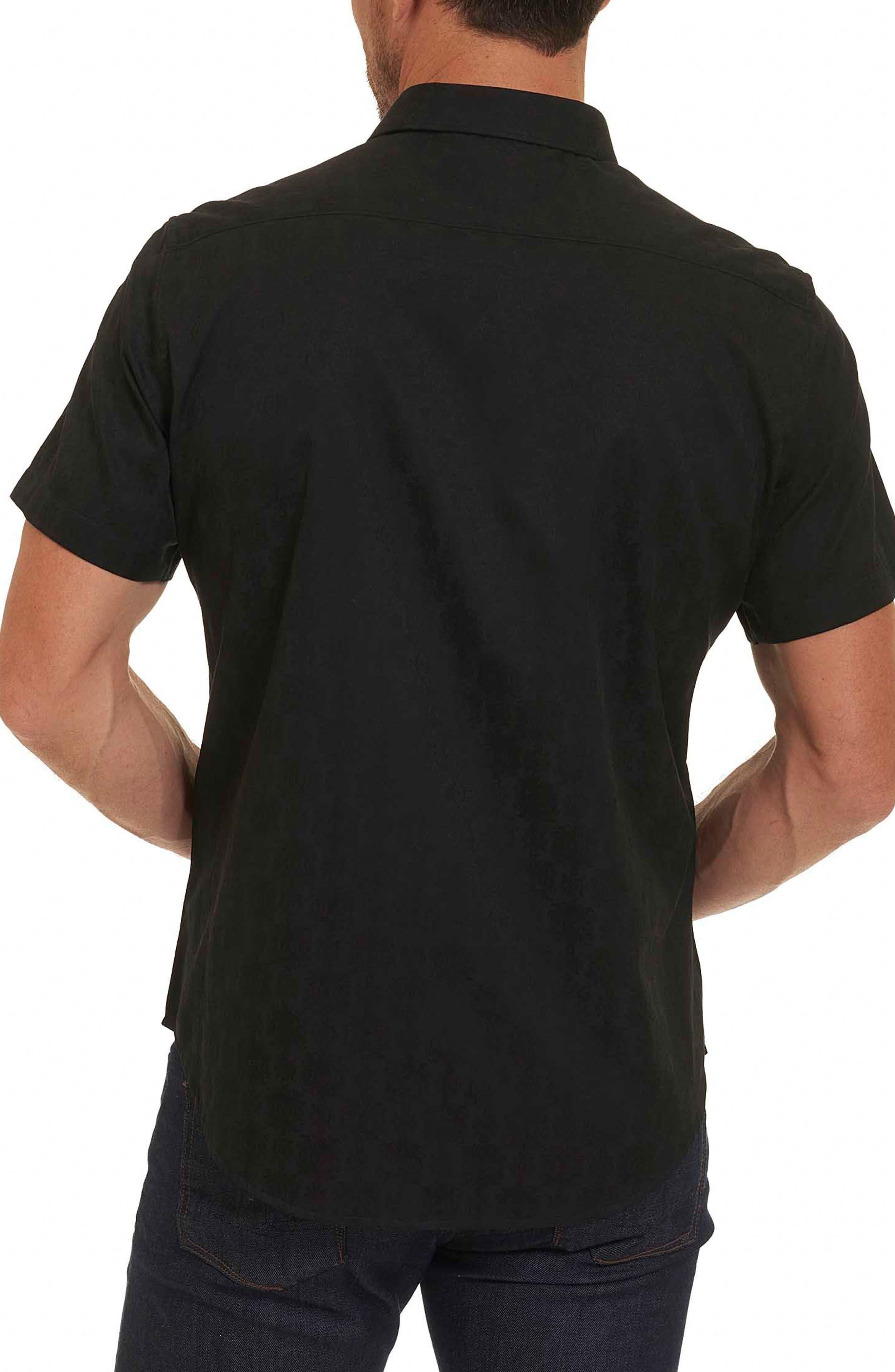 Cullen Regular Fit Sport Shirt,                             Alternate thumbnail 8, color,