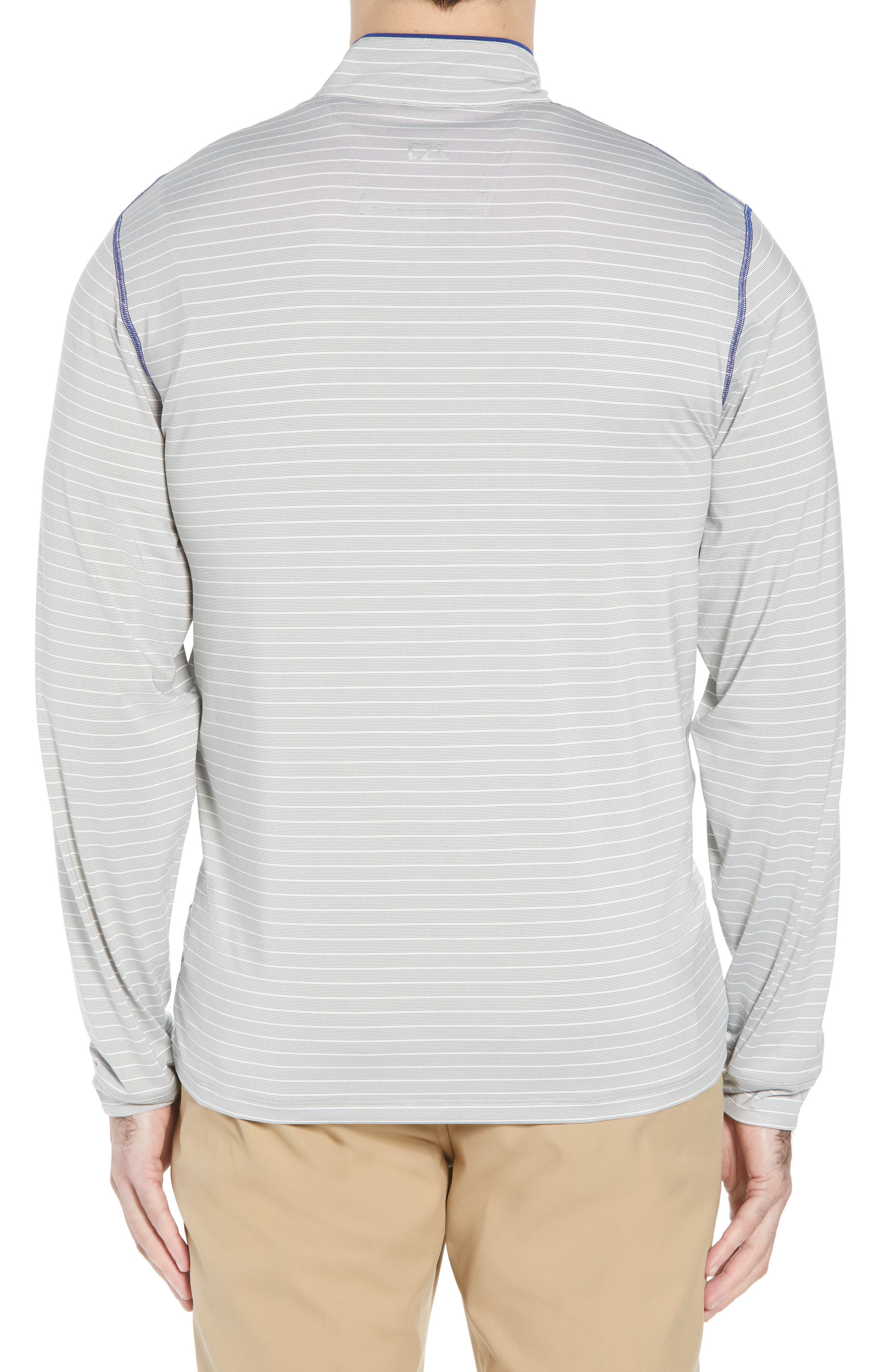 Meridian - Indianapolis Colts Regular Fit Half Zip Pullover,                             Alternate thumbnail 2, color,                             TOUR BLUE