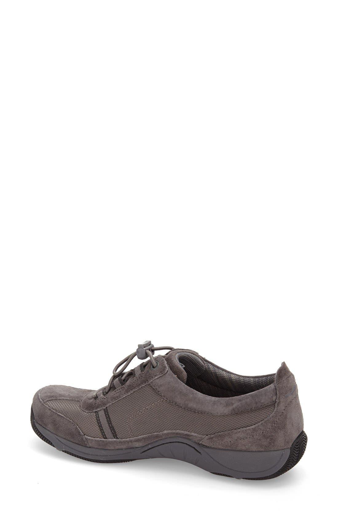'Helen' Suede & Mesh Sneaker,                             Alternate thumbnail 80, color,