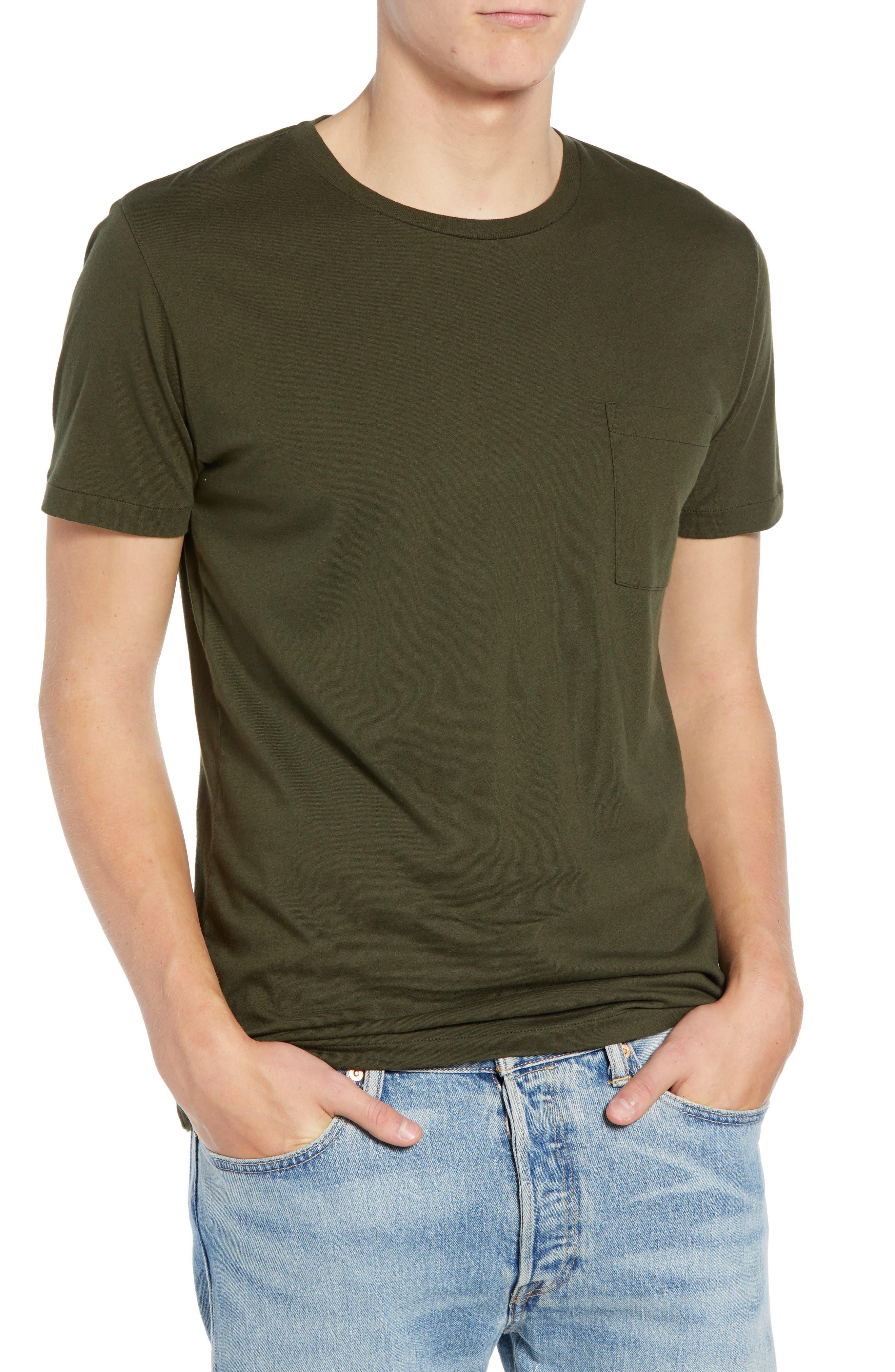 Slim Fit Pocket T-Shirt,                         Main,                         color, 300