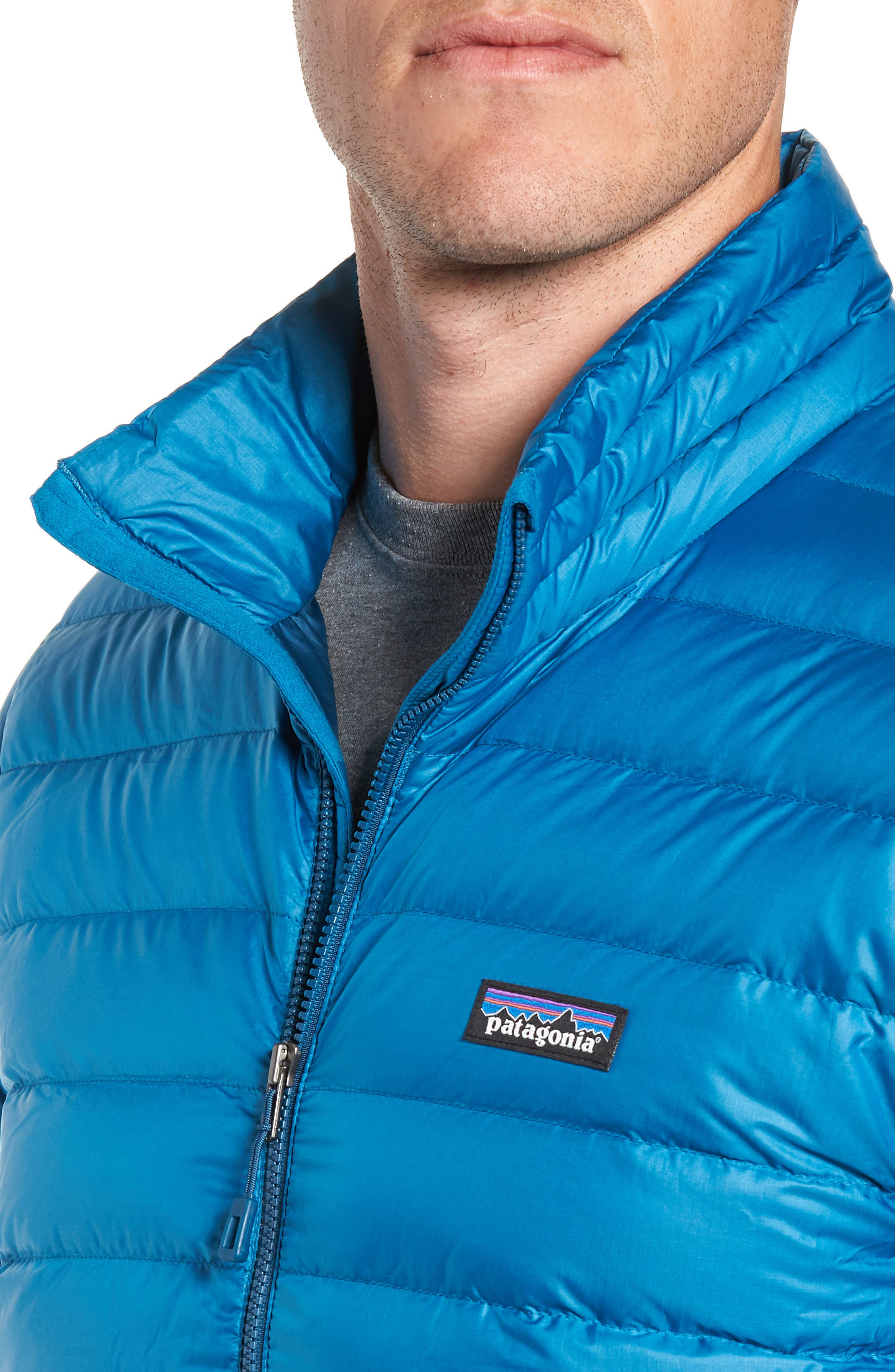 Water Repellent Down Jacket,                             Alternate thumbnail 66, color,