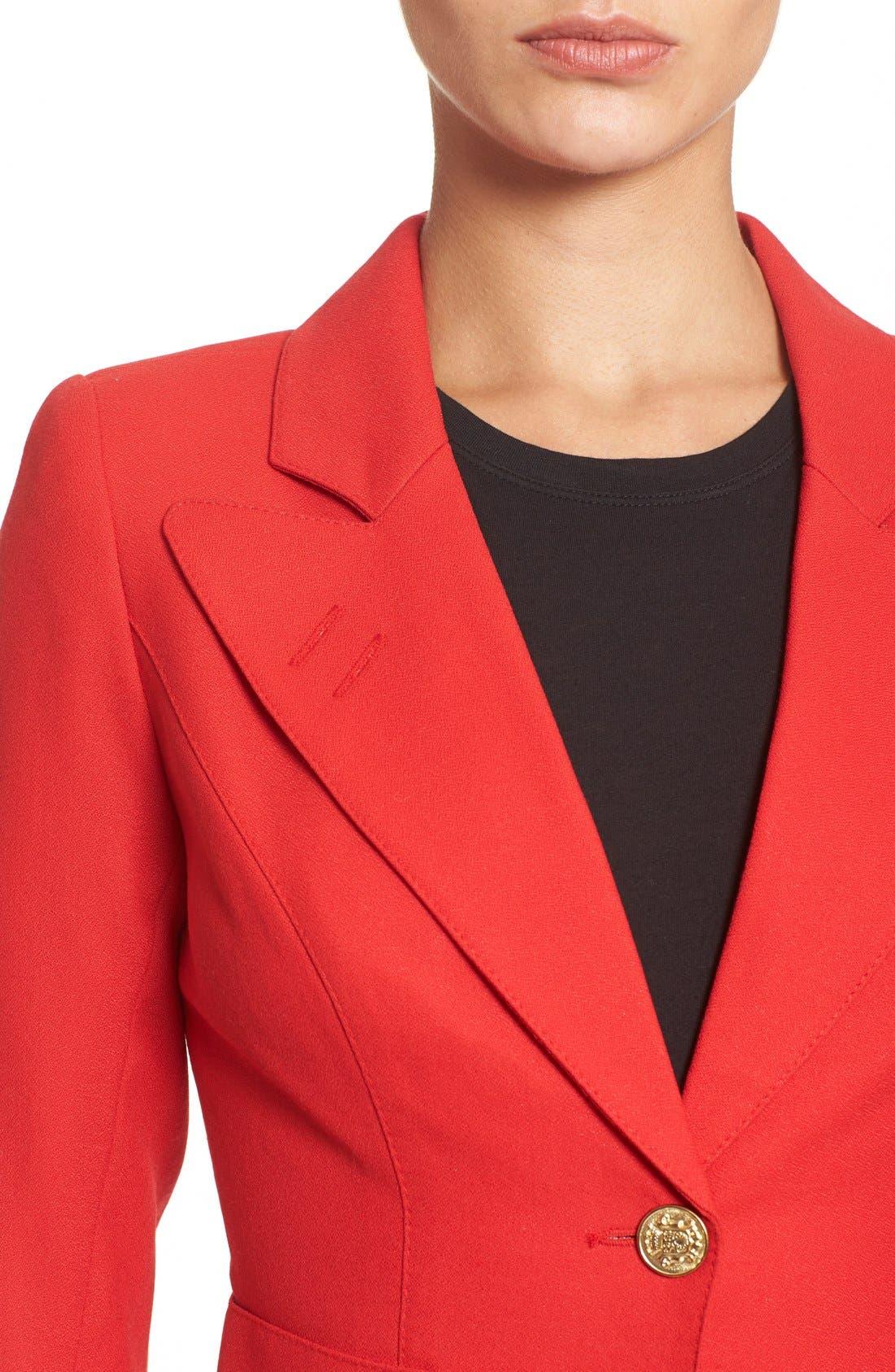 'Duchess' Single Button Blazer,                             Alternate thumbnail 30, color,