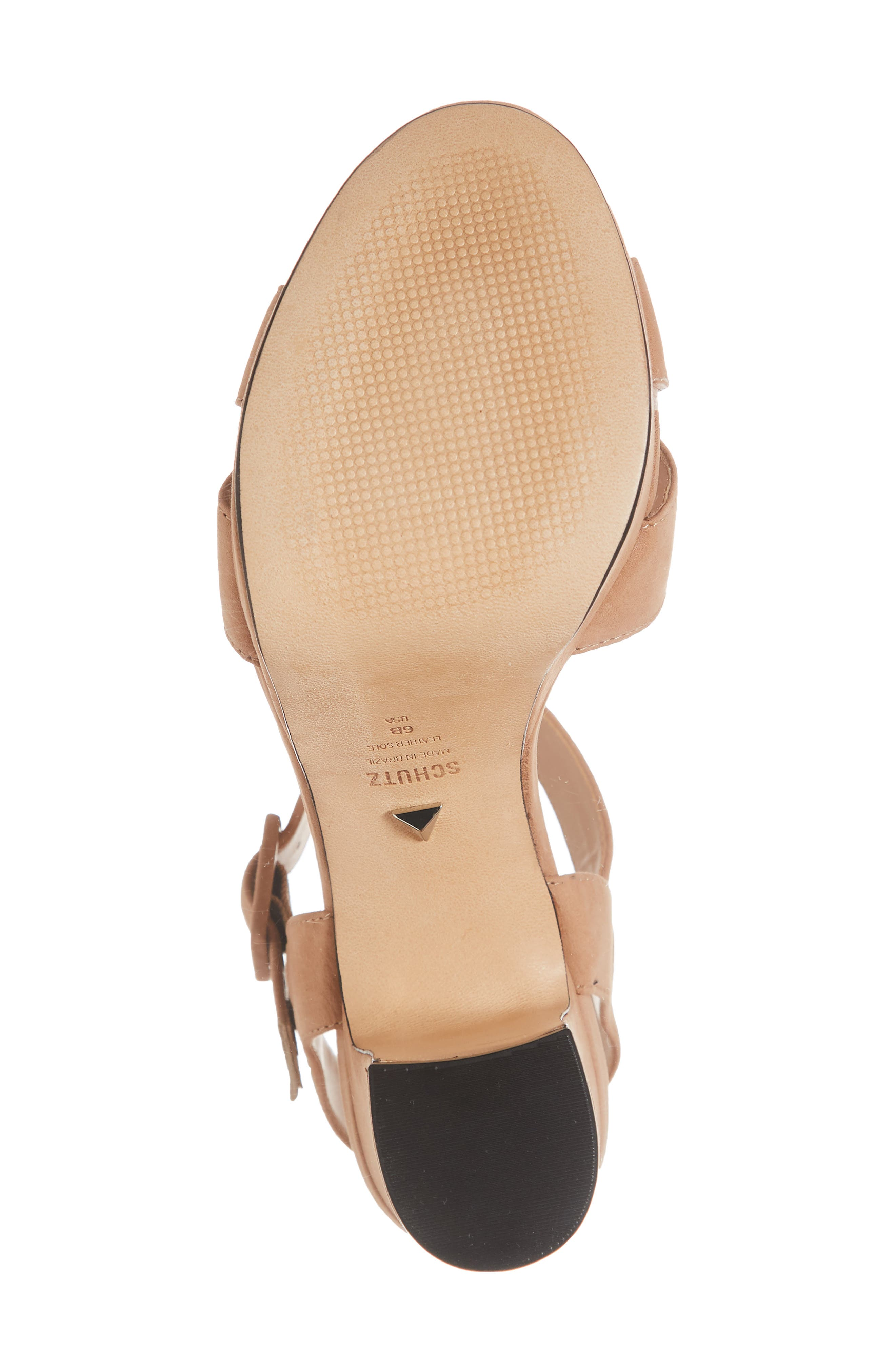 Tulia Sandal,                             Alternate thumbnail 6, color,                             HONEY BEIGE NUBUCK