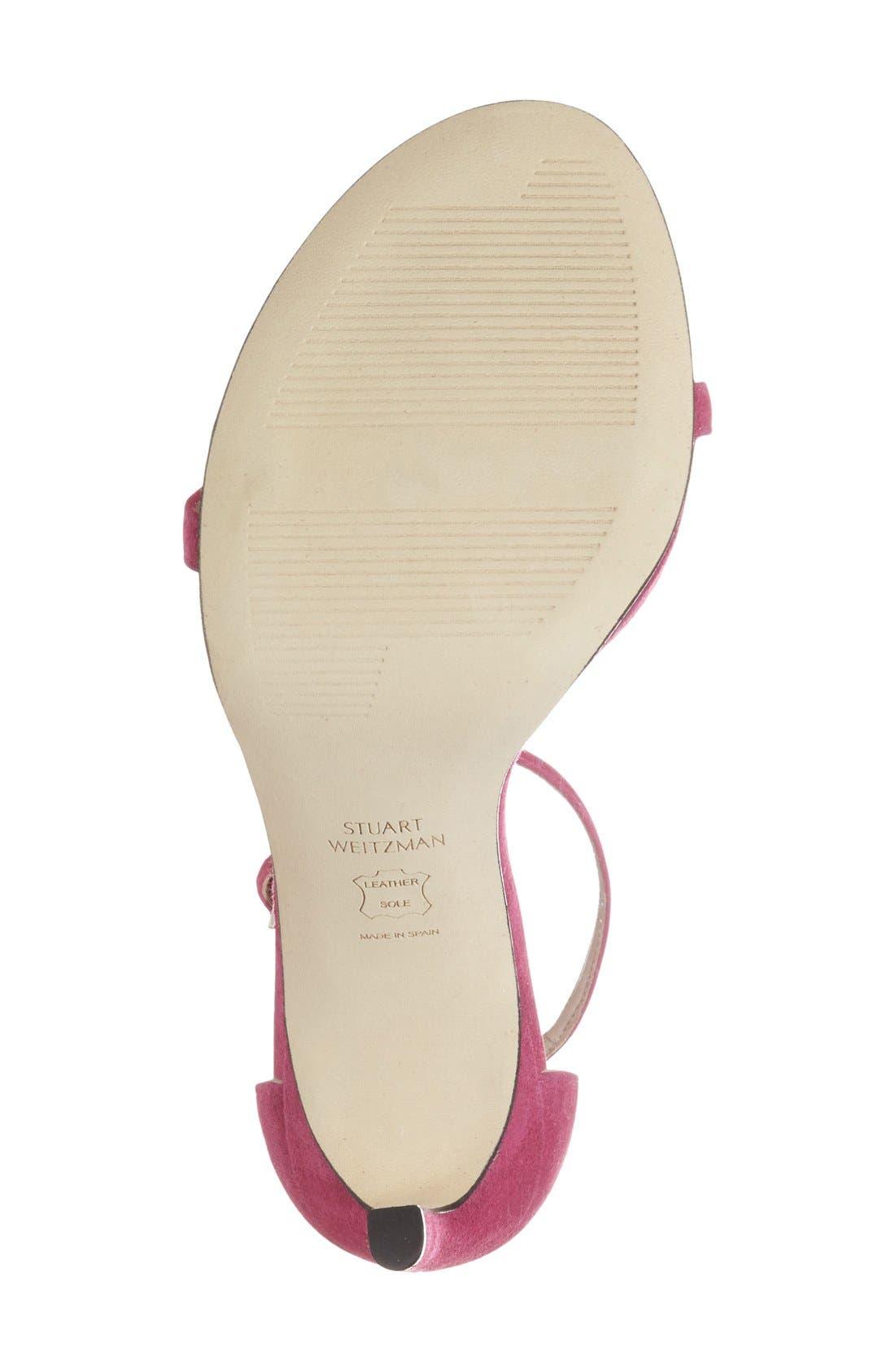 Nudistsong Ankle Strap Sandal,                             Alternate thumbnail 164, color,