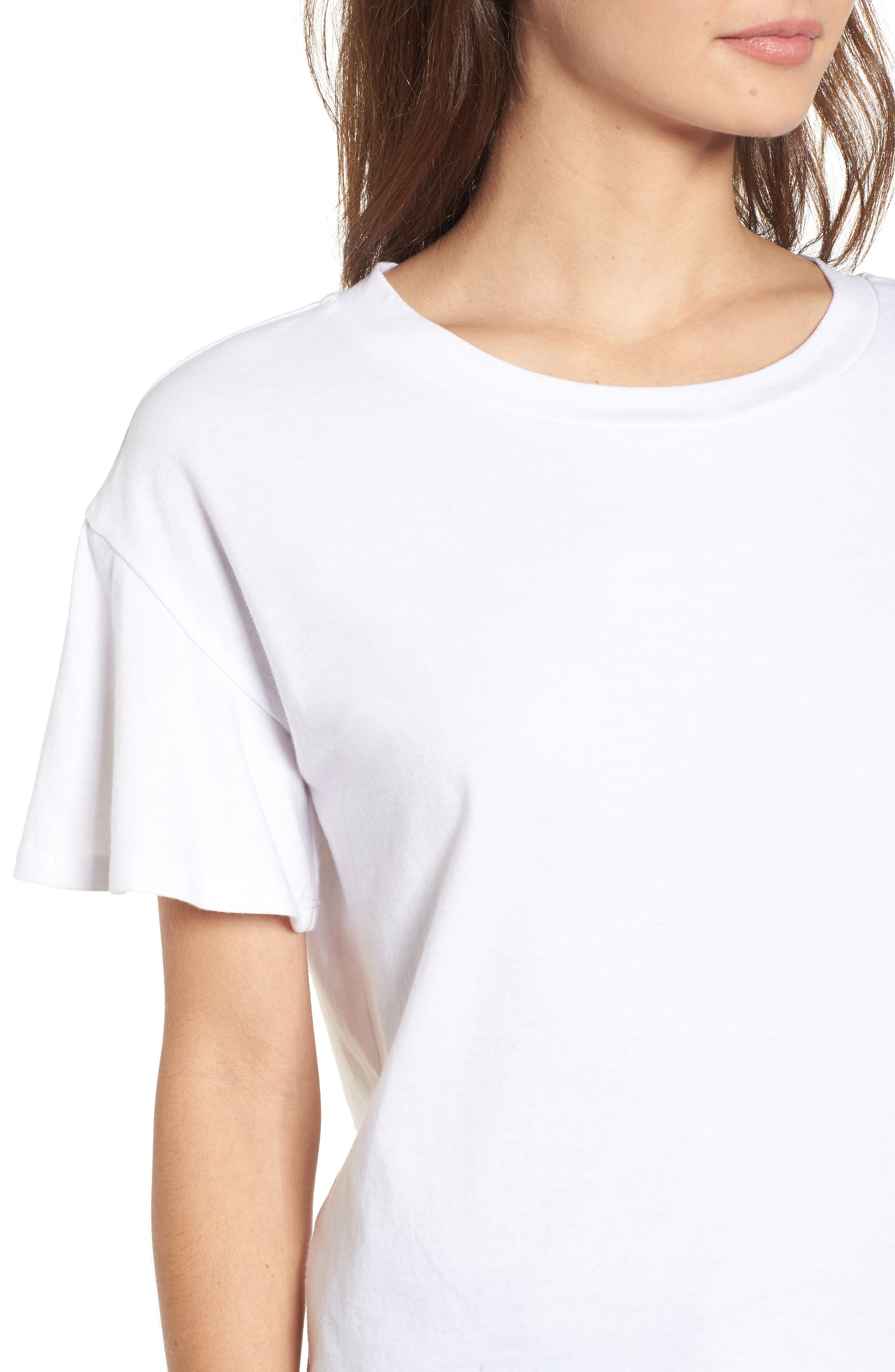 Flutter Sleeve Tee,                             Alternate thumbnail 11, color,