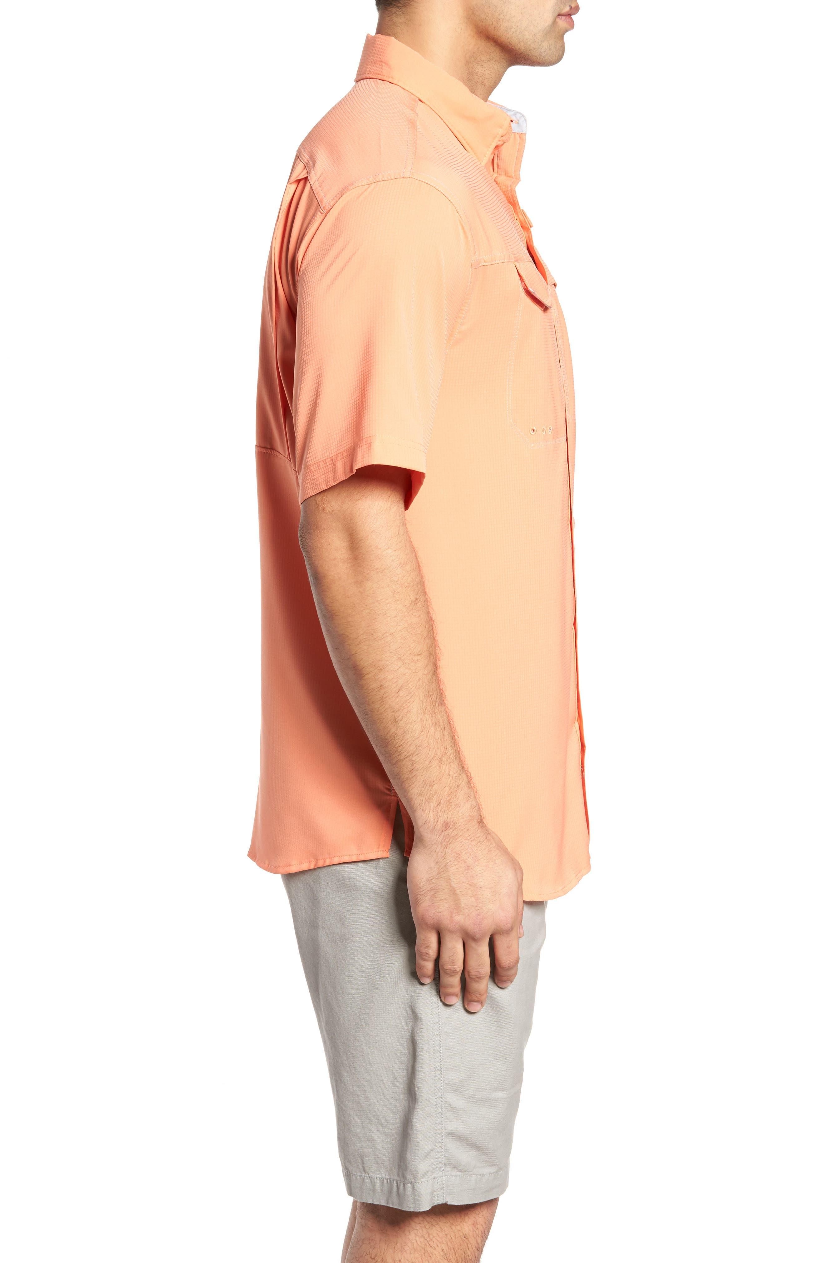 PFG Low Drag Offshore Woven Shirt,                             Alternate thumbnail 15, color,