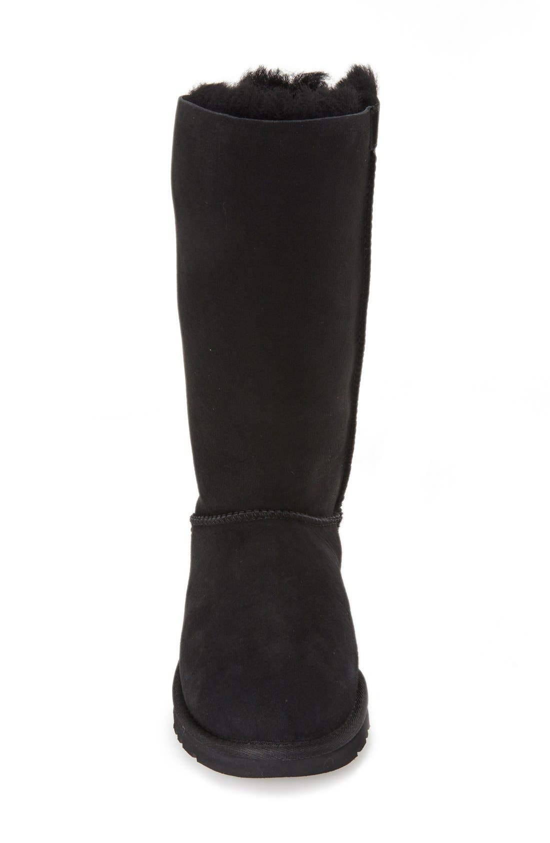 UGG<SUP>®</SUP>,                             'Bailey Bow' Tall Boot,                             Alternate thumbnail 3, color,                             001