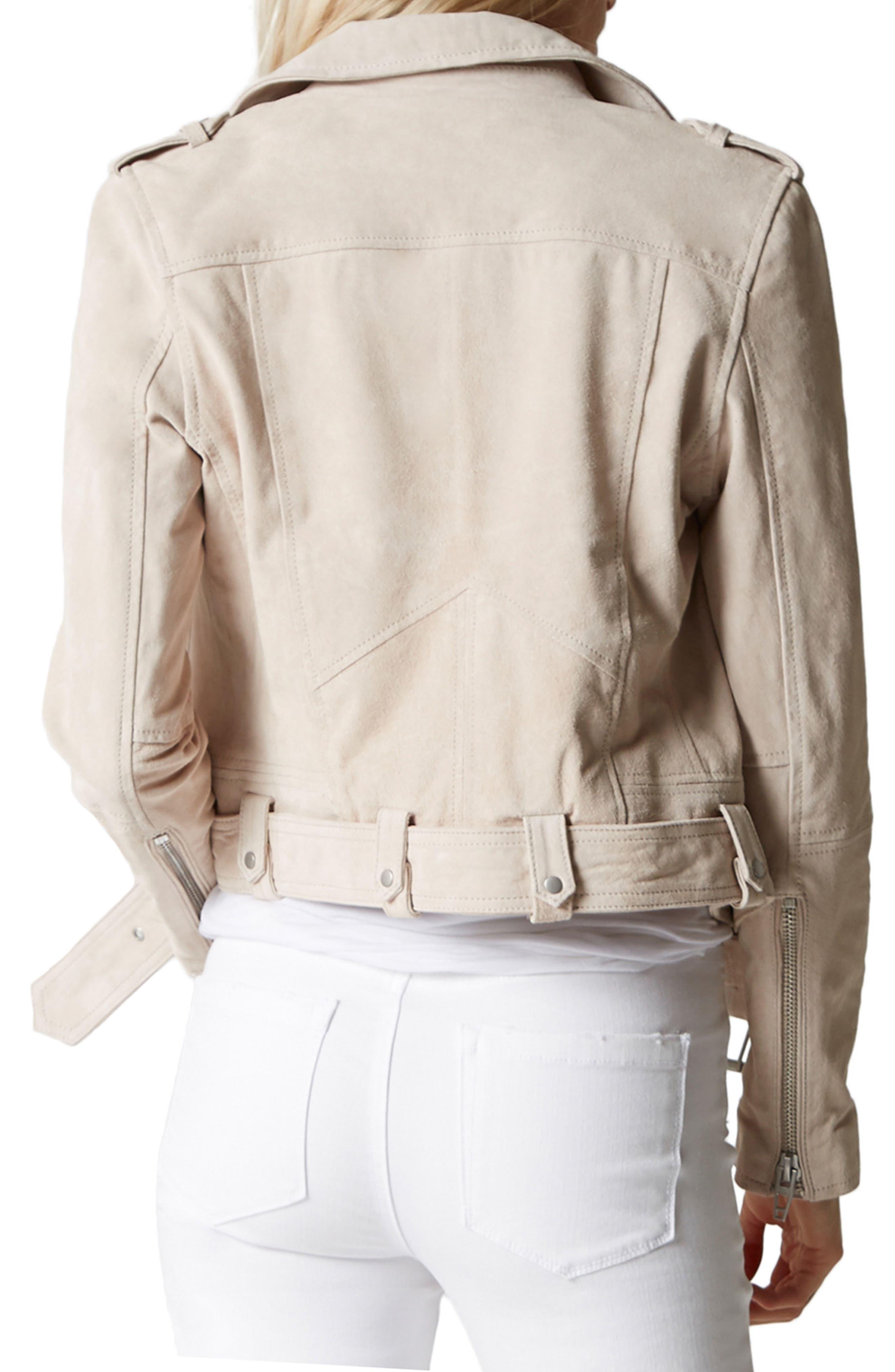 BLANKNYC,                             Suede Moto Jacket,                             Alternate thumbnail 2, color,                             020