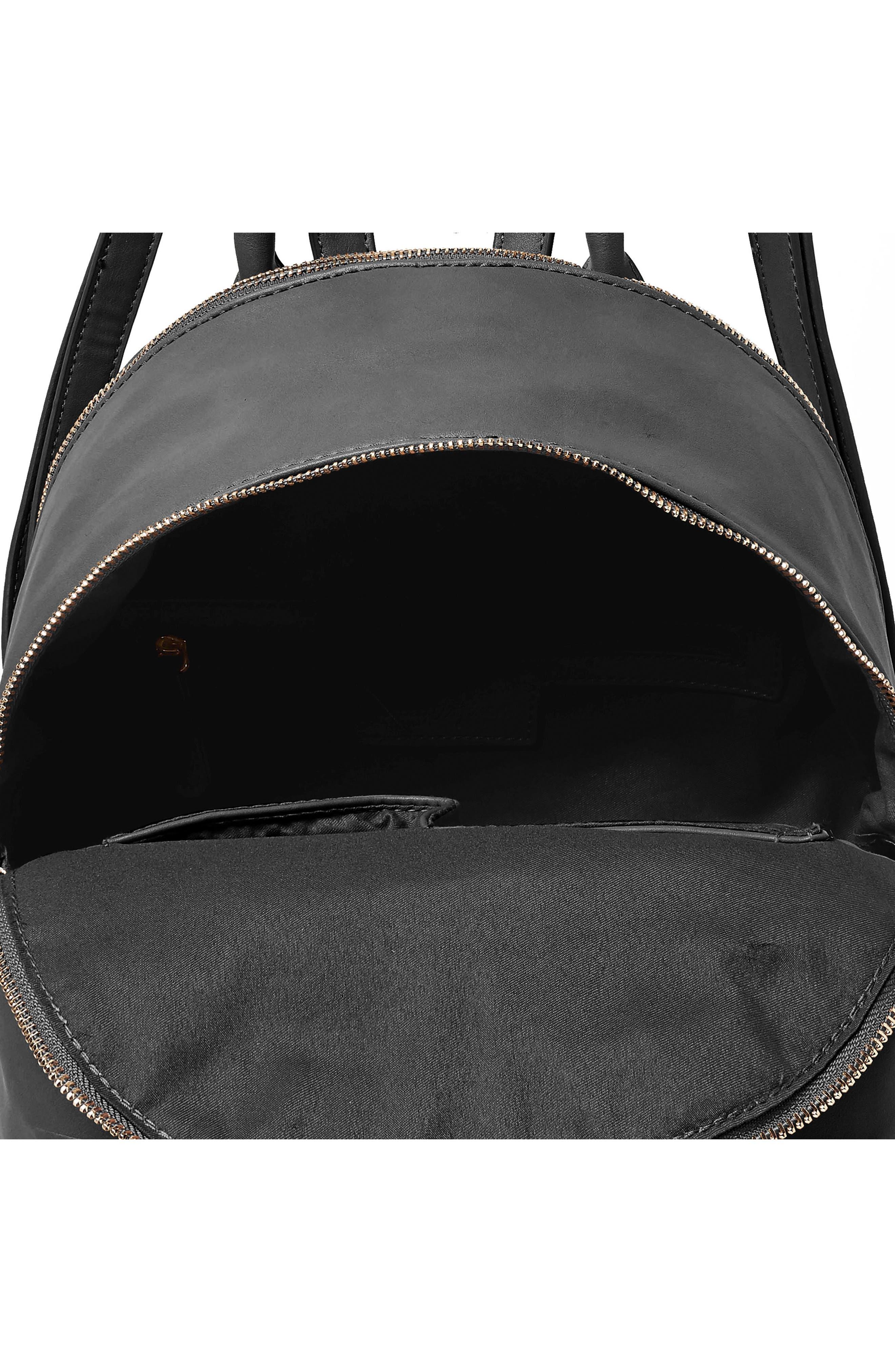Celestial Vegan Leather Backpack,                             Alternate thumbnail 3, color,                             001