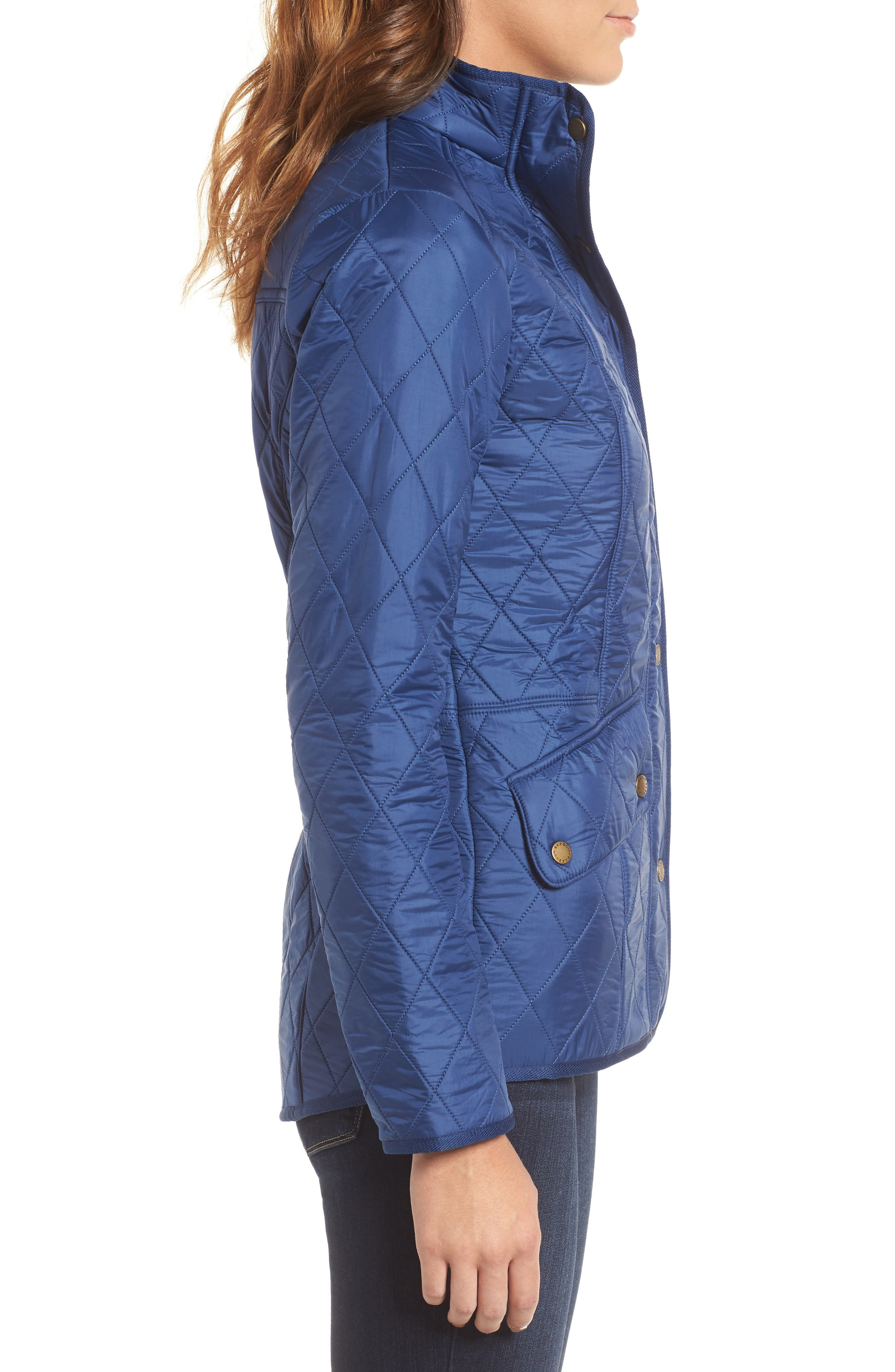 'Cavalry' Quilted Jacket,                             Alternate thumbnail 35, color,