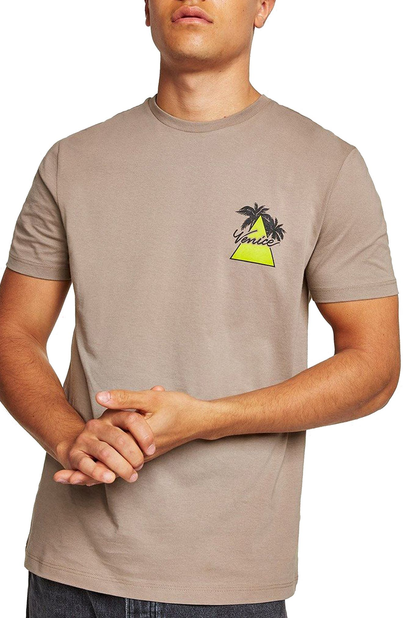 Slim Fit Venice Graphic T-Shirt,                             Main thumbnail 1, color,