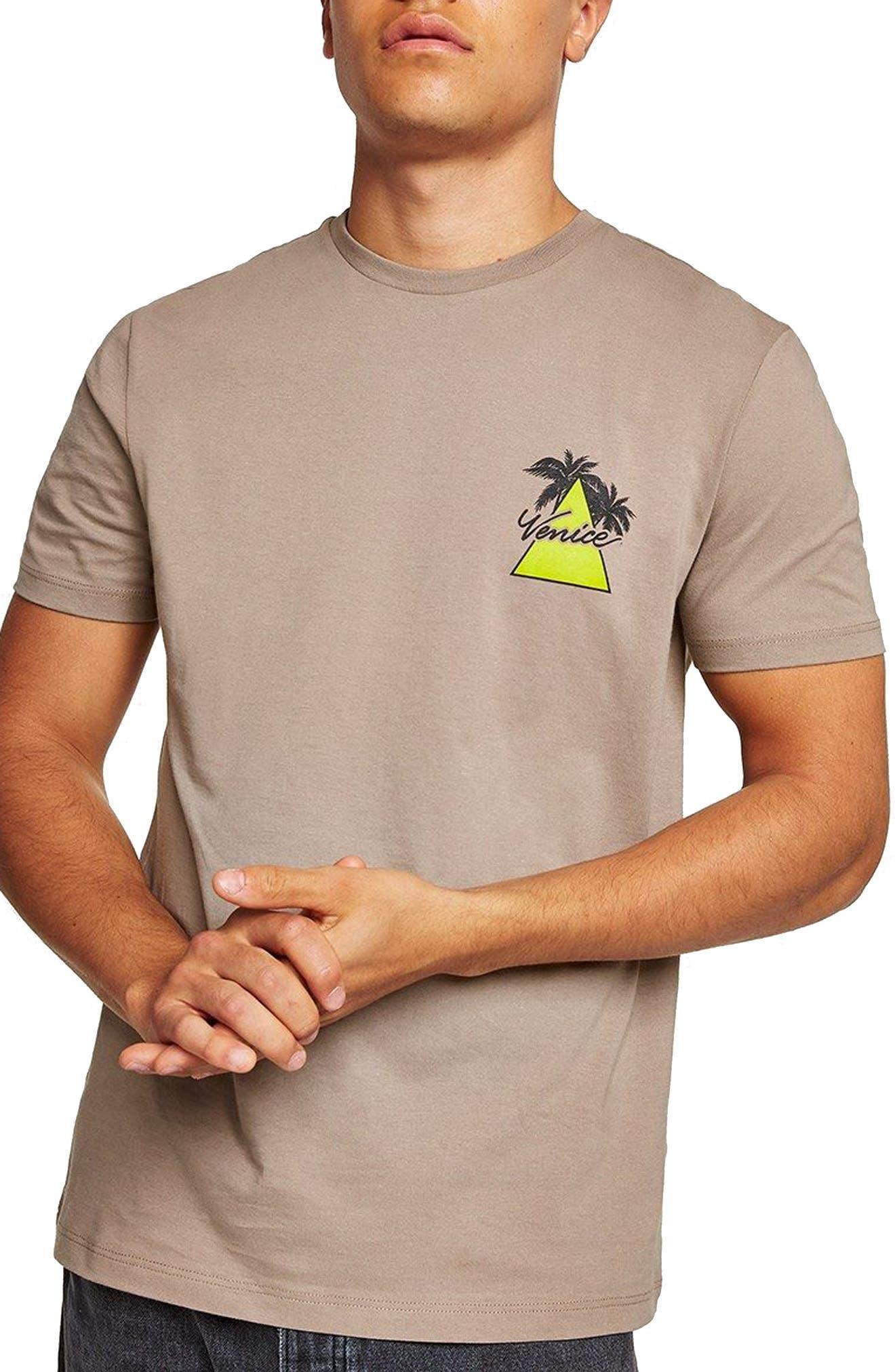 Slim Fit Venice Graphic T-Shirt,                         Main,                         color,