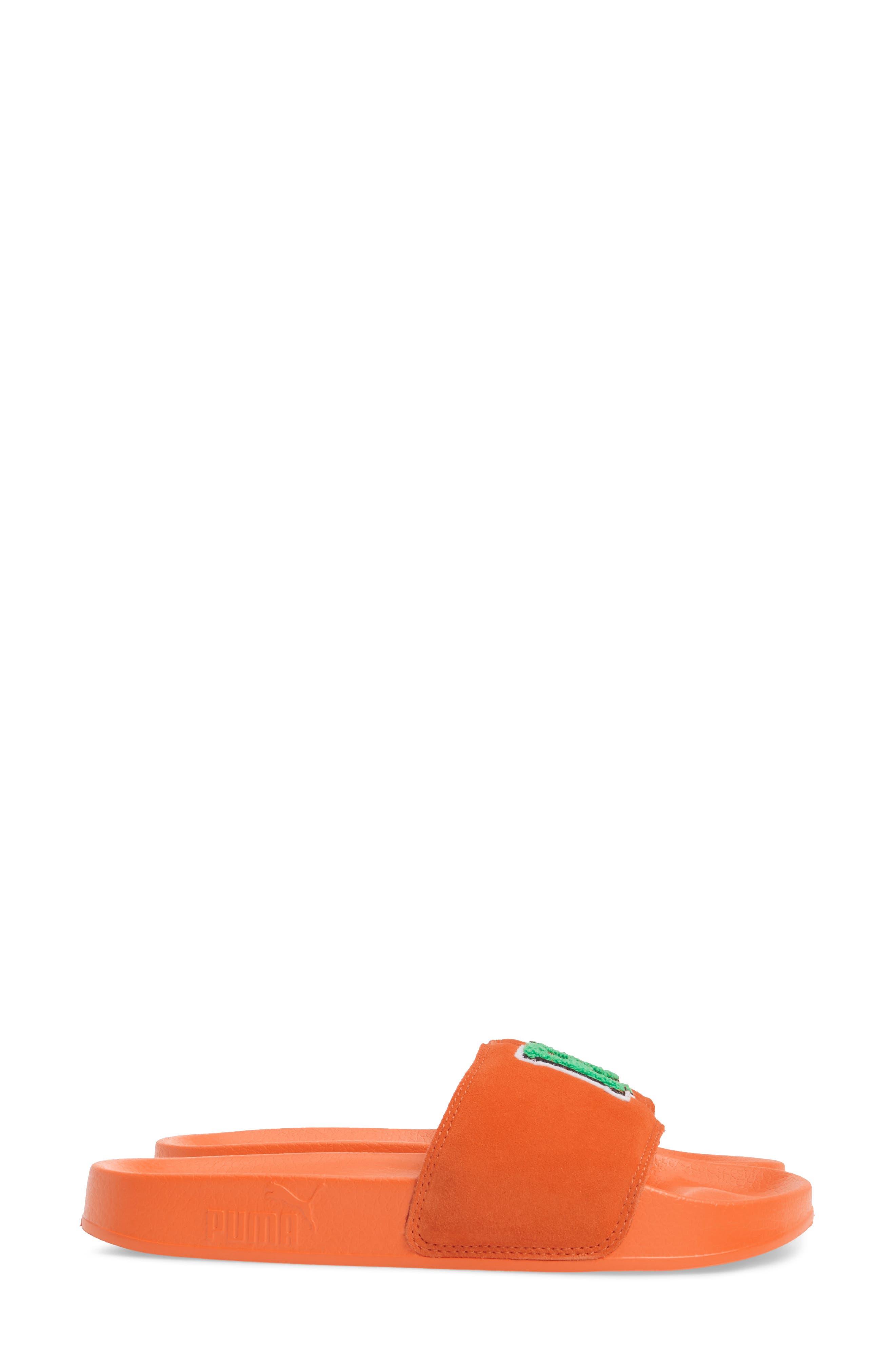 FENTY PUMA by Rihanna Lead Cat Slide Sandals,                             Alternate thumbnail 11, color,