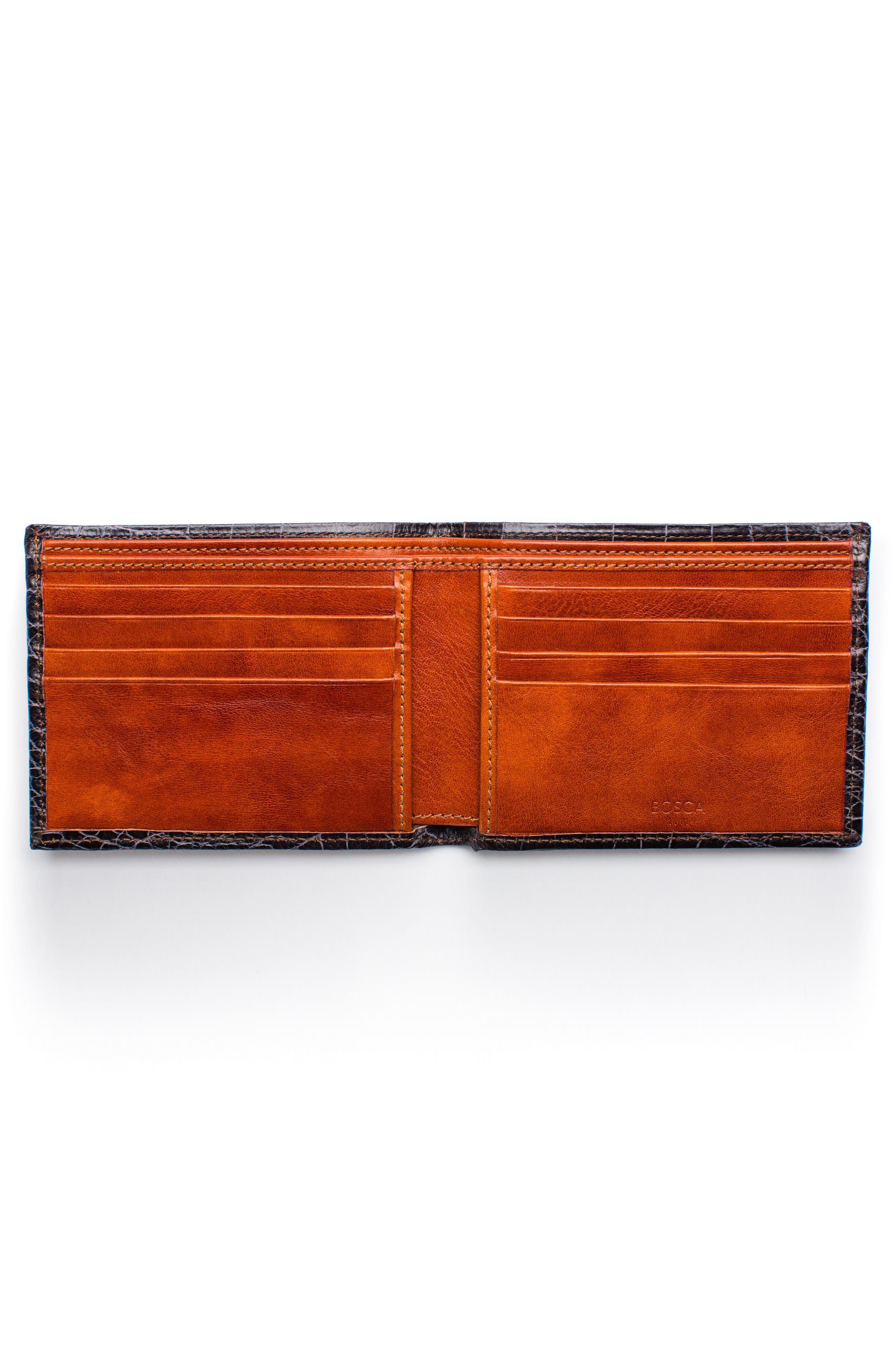 Embossed Bifold Wallet,                             Alternate thumbnail 2, color,