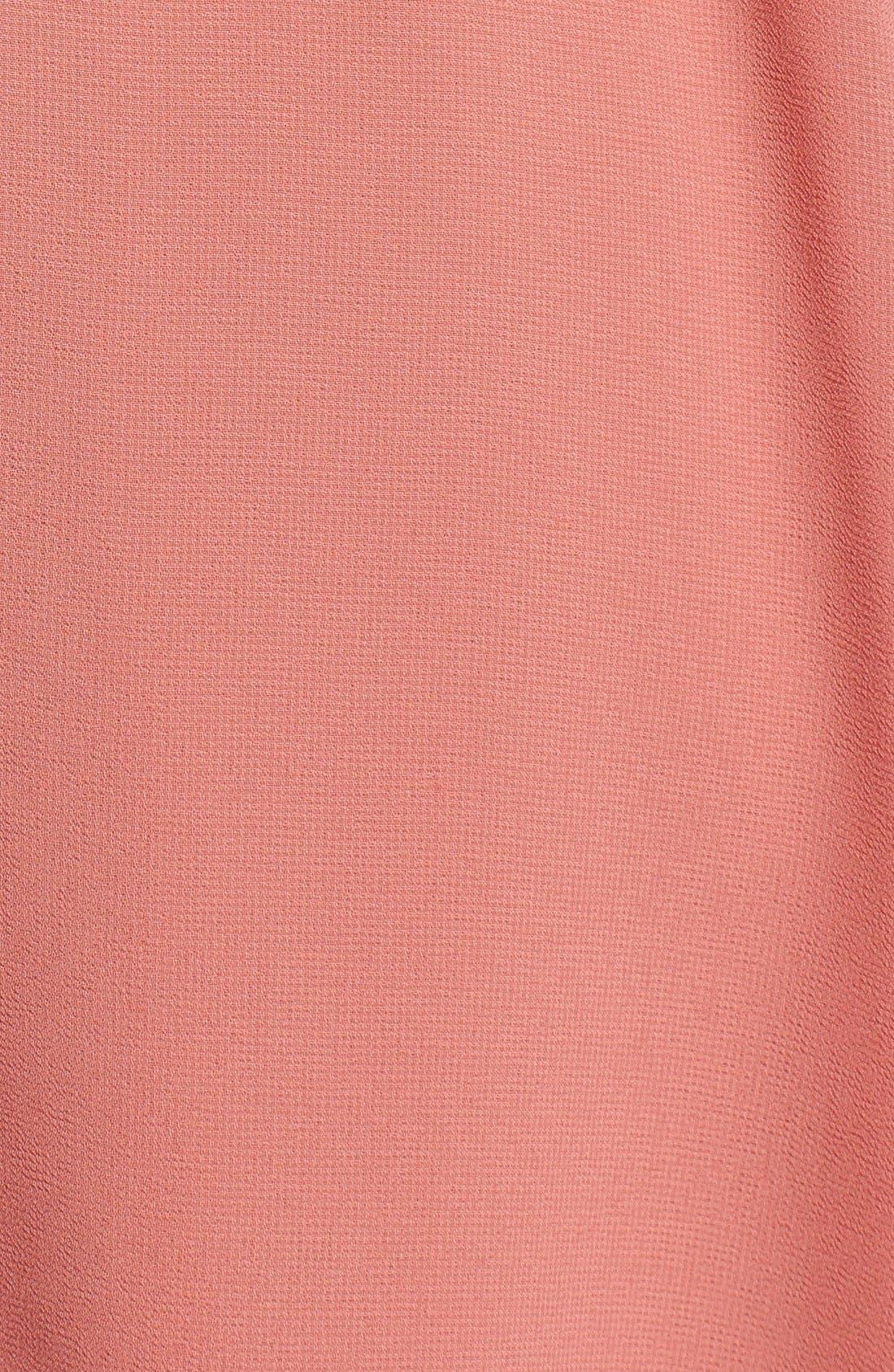 Blouson Chiffon Skater Dress,                             Alternate thumbnail 224, color,
