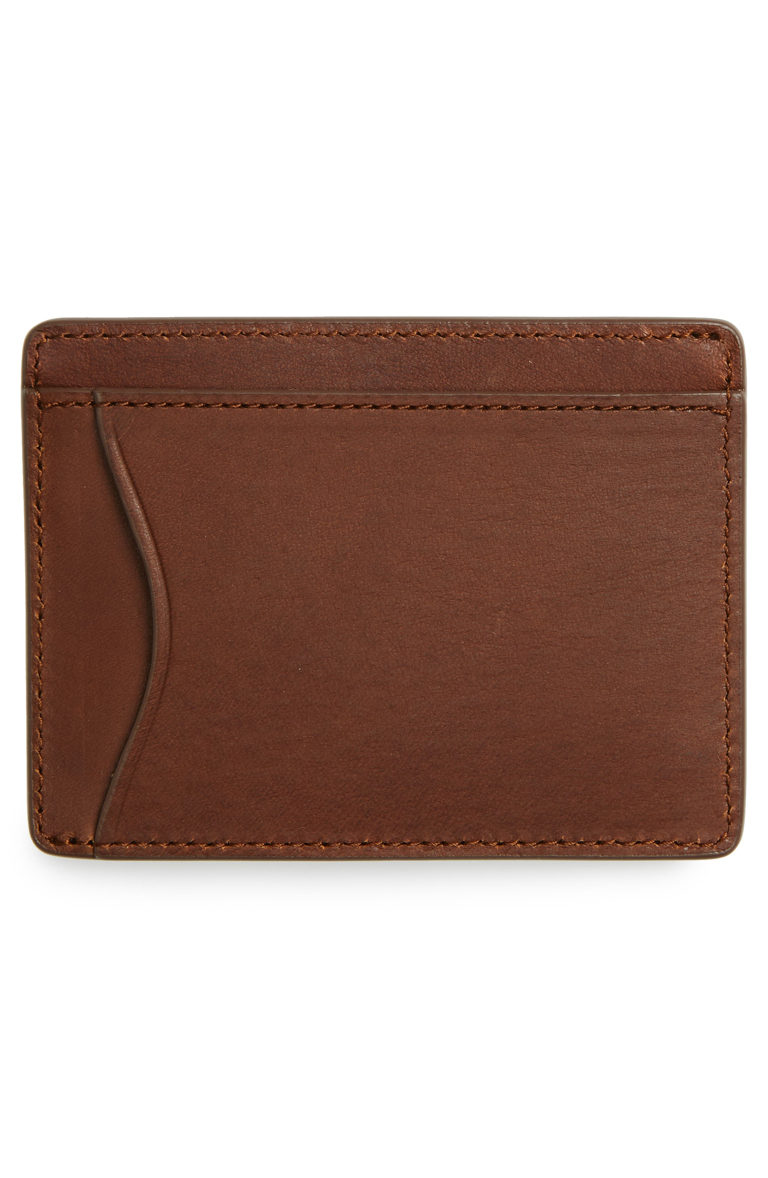 Leather Card Case,                             Alternate thumbnail 2, color,                             201