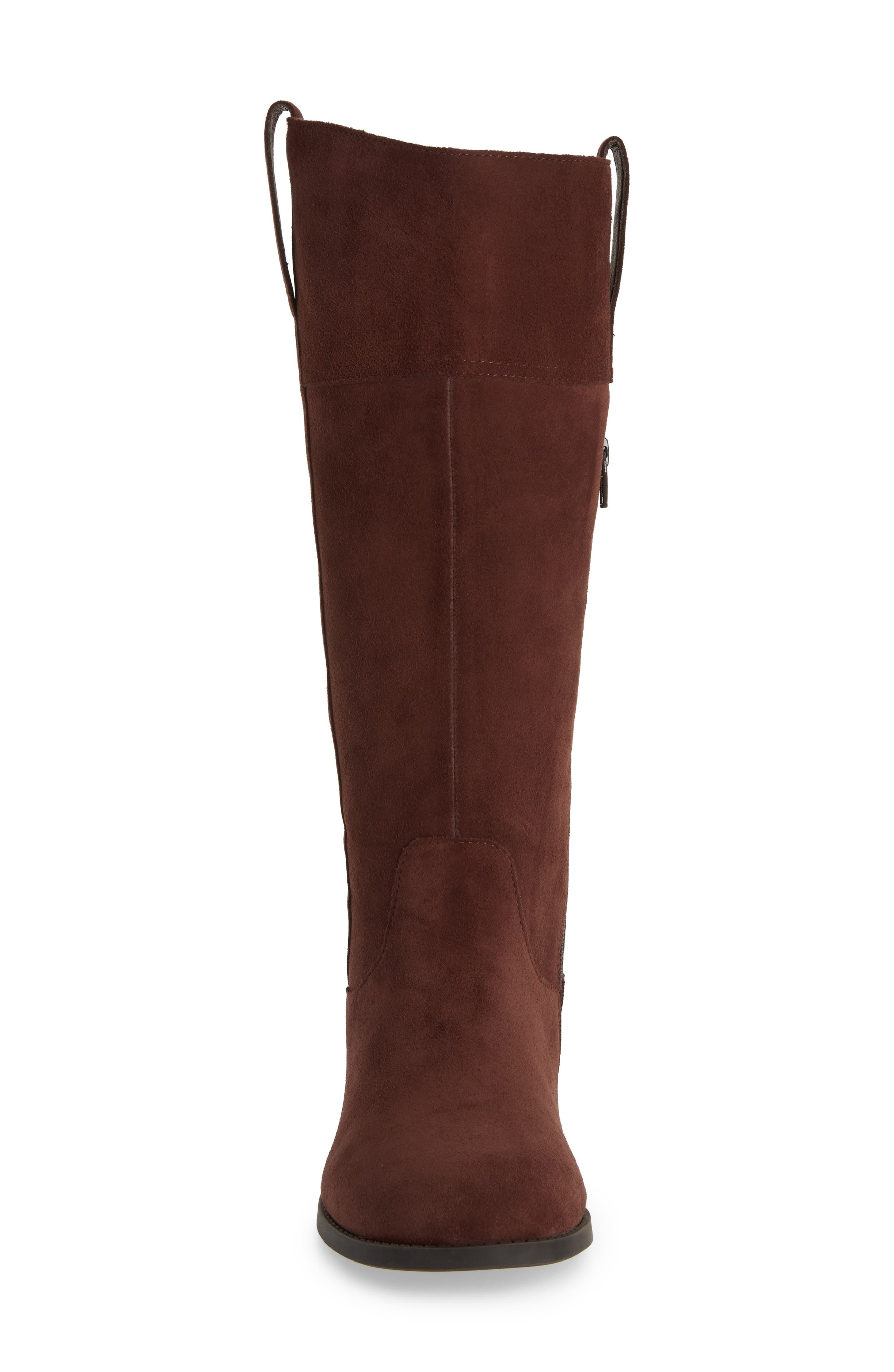 Downing Boot,                             Alternate thumbnail 4, color,                             CHOCOLATE SUEDE