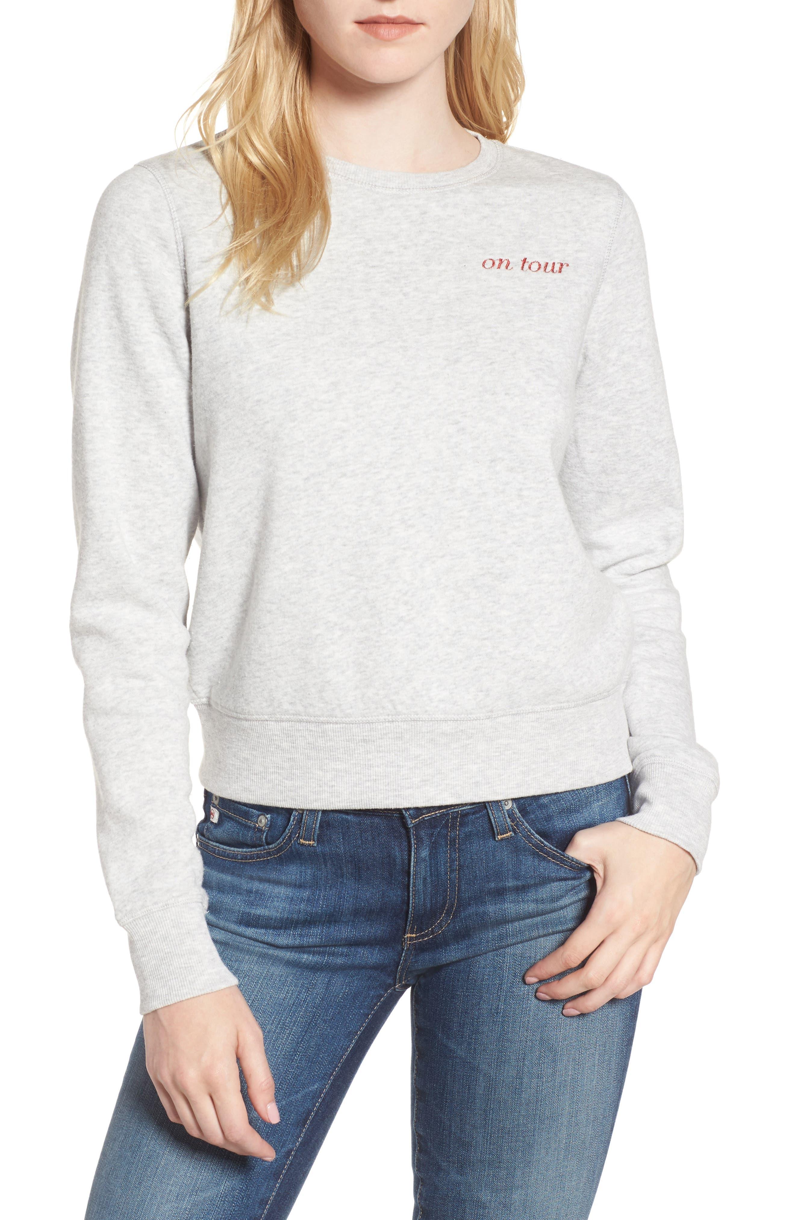Kassidy Tour Sweatshirt,                         Main,                         color, 096