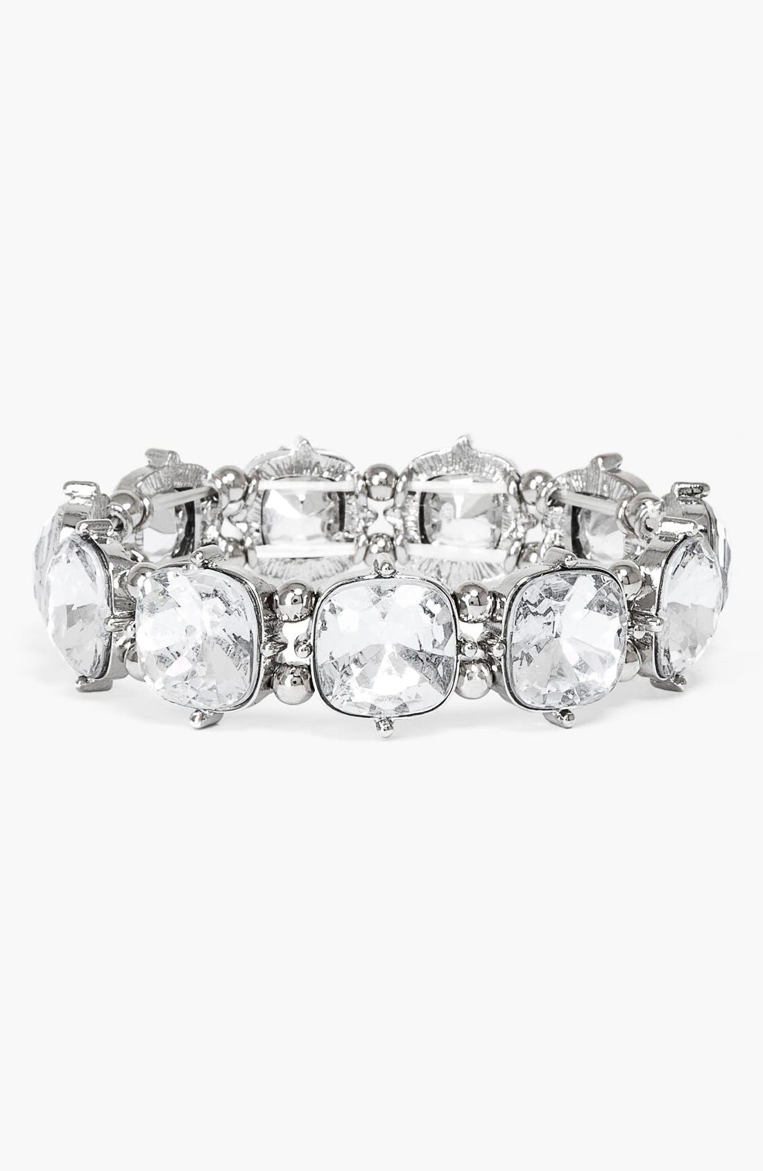 Stone Stretch Bracelet,                         Main,                         color, 040