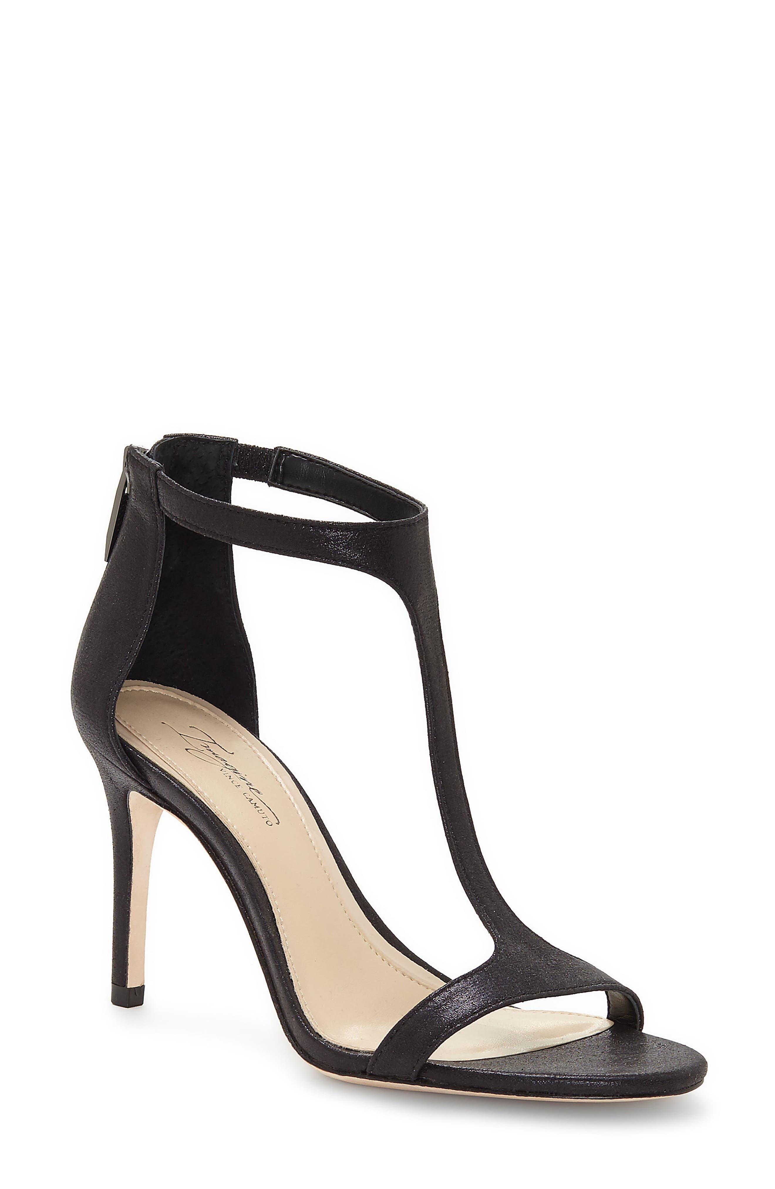 'Phoebe' Embellished T-Strap Sandal,                         Main,                         color,