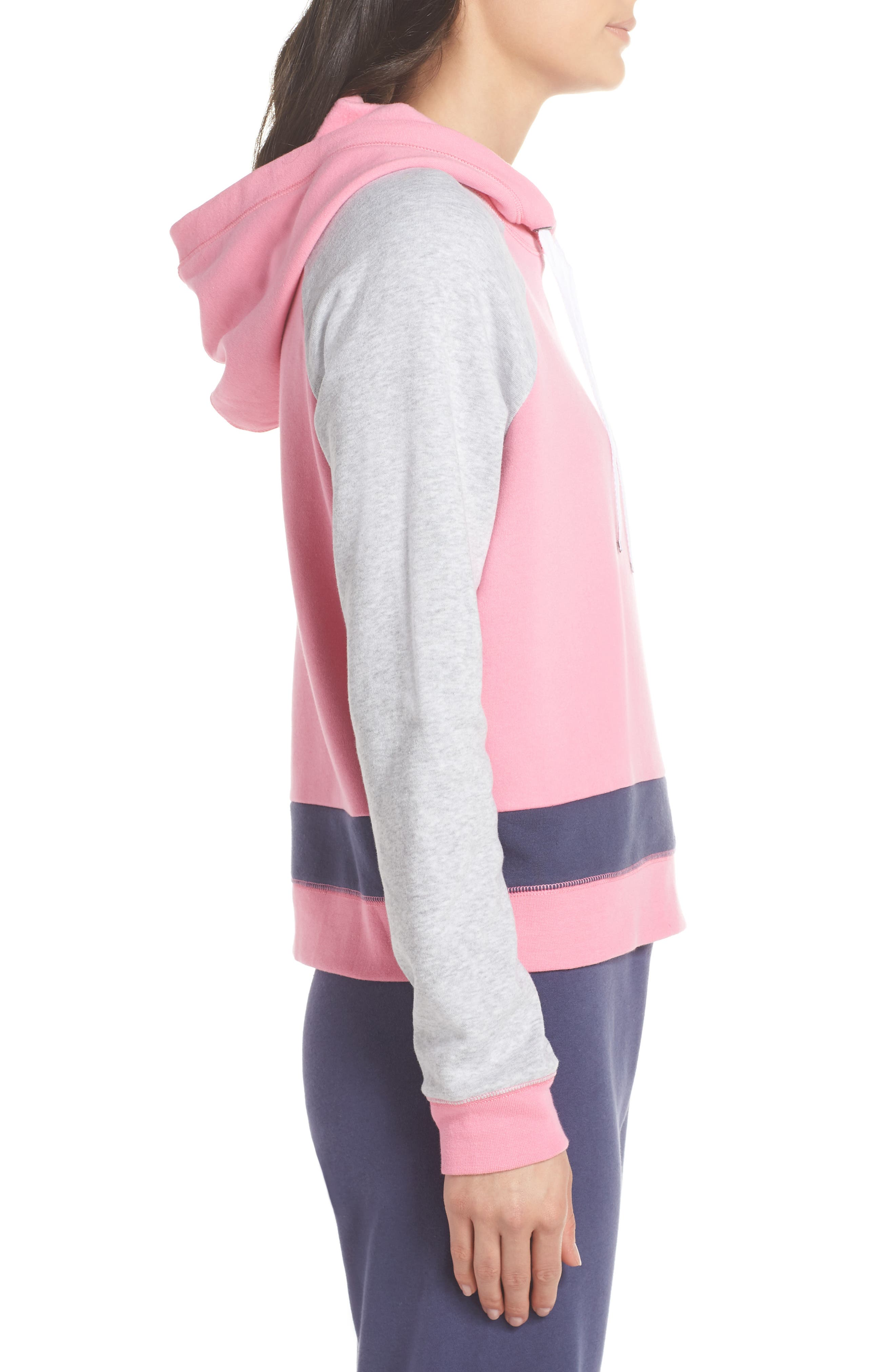 Sleepy Fleece Hoodie,                             Alternate thumbnail 3, color,                             660