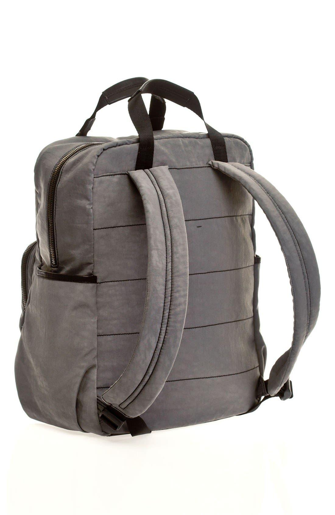 'Courage' Unisex Backpack Diaper Bag,                             Alternate thumbnail 4, color,                             020