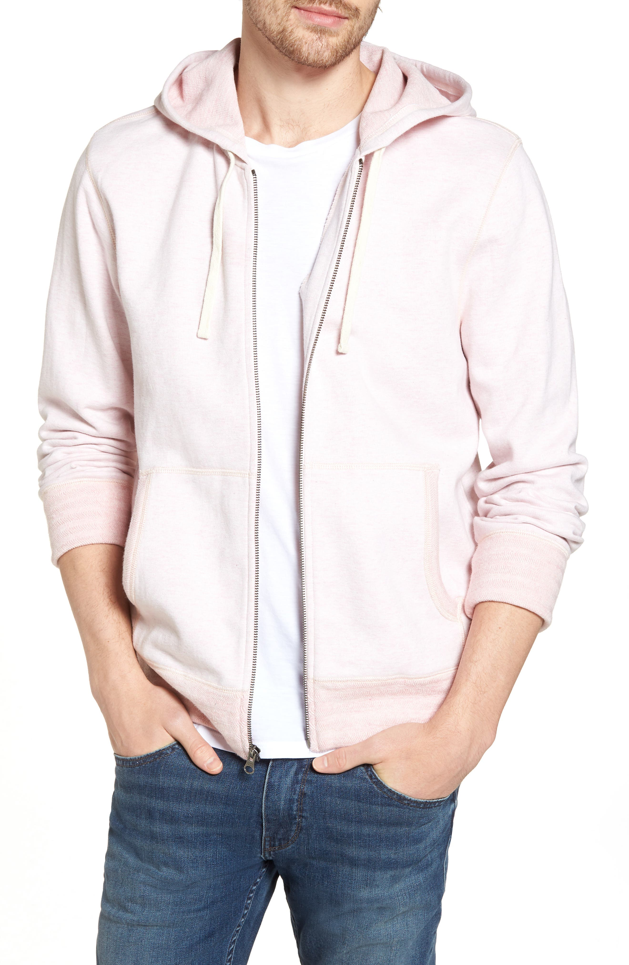 Space Dyed Zip Hoodie,                             Main thumbnail 3, color,