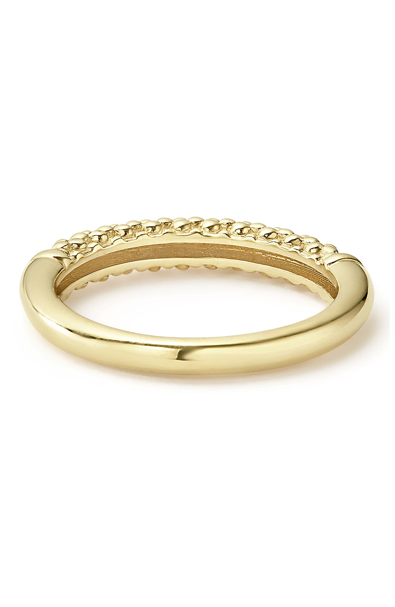 Caviar Band Ring,                             Alternate thumbnail 3, color,                             GOLD