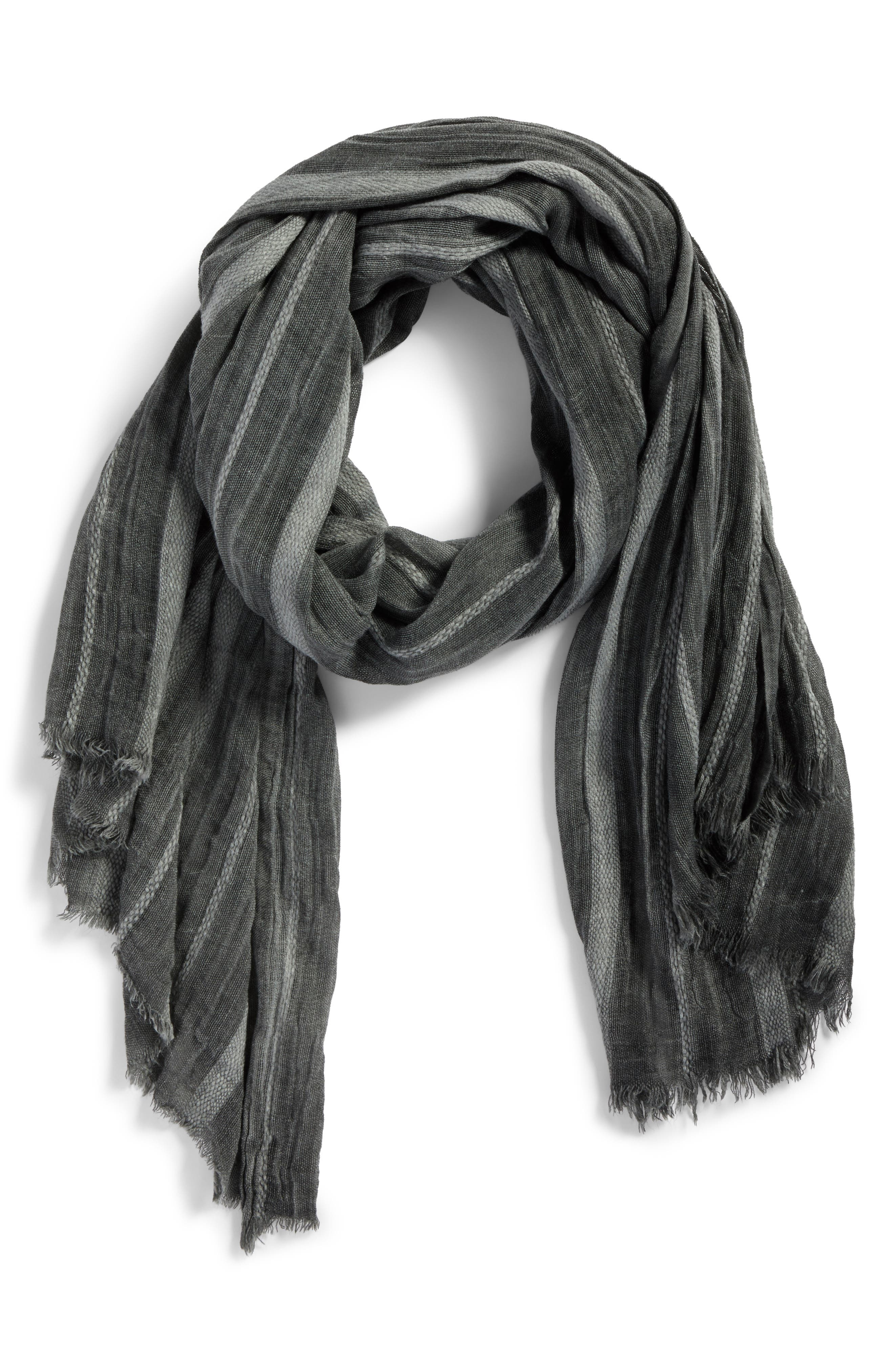 Solid Ribbed Wrap Scarf,                             Alternate thumbnail 2, color,                             021
