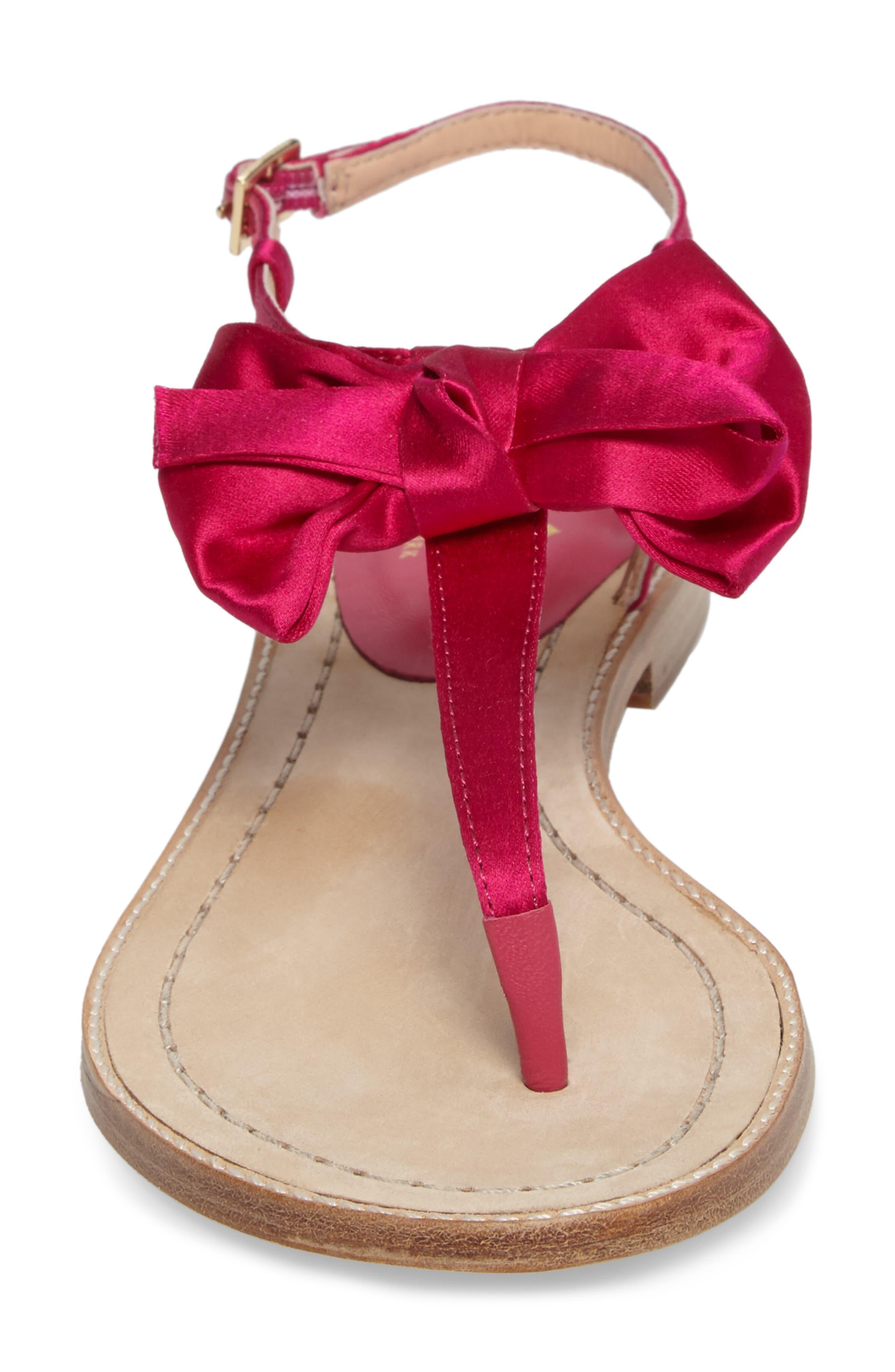 serrano bow sandal,                             Alternate thumbnail 15, color,