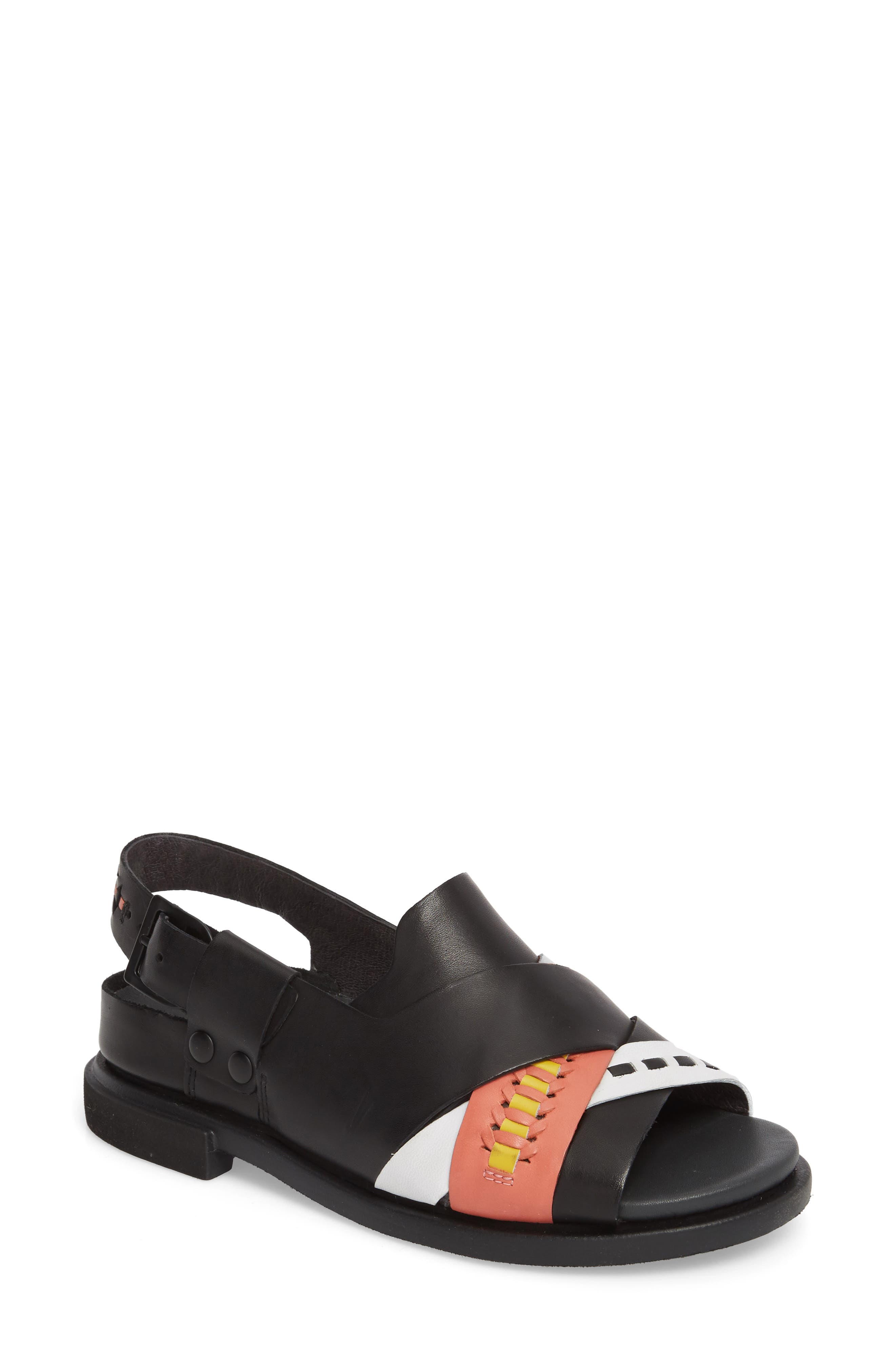 Twins Slingback Sandal,                         Main,                         color,