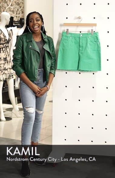 MOTO High Waist Denim Skirt, sales video thumbnail