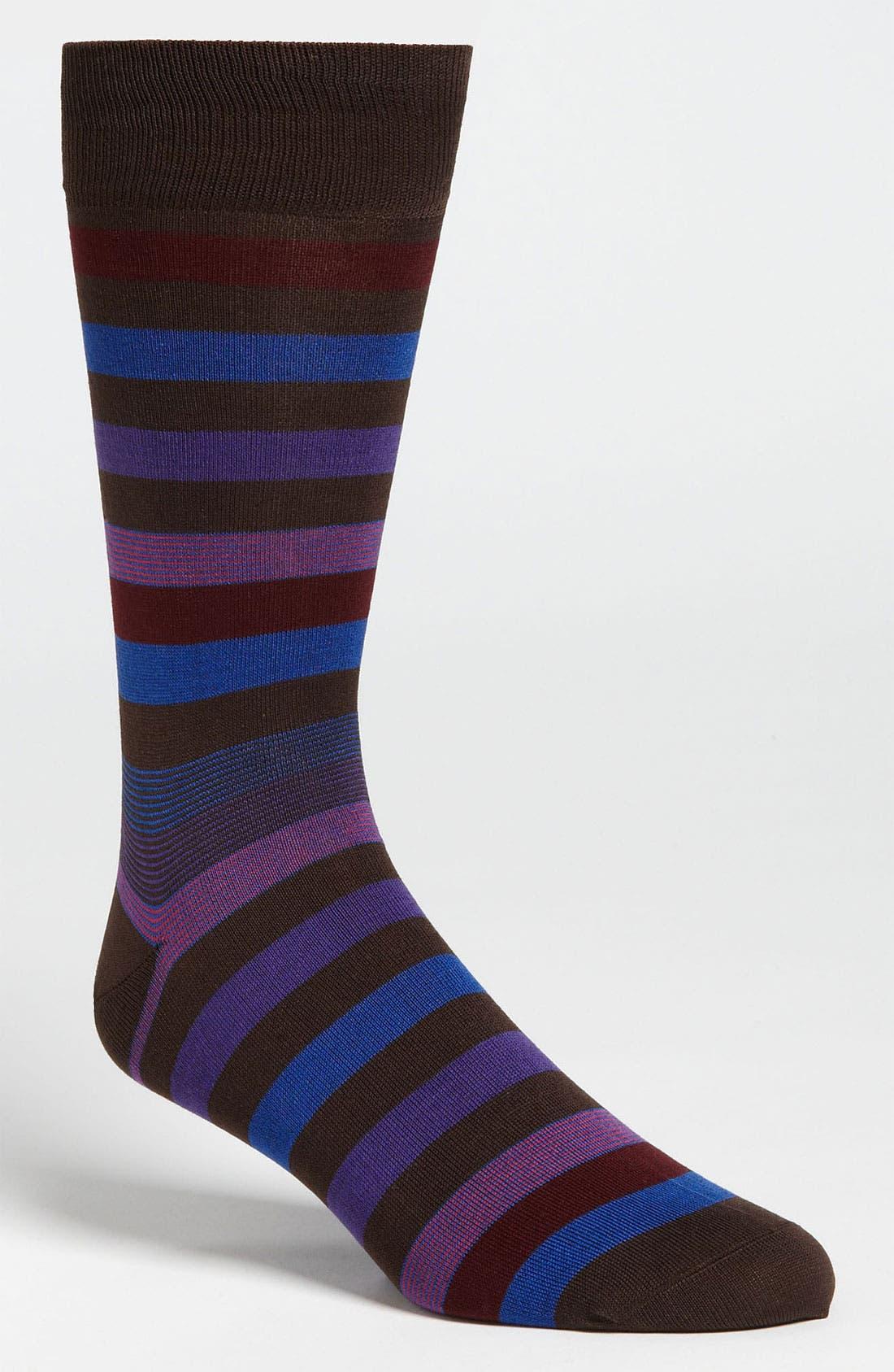 Stripe Socks,                             Main thumbnail 5, color,