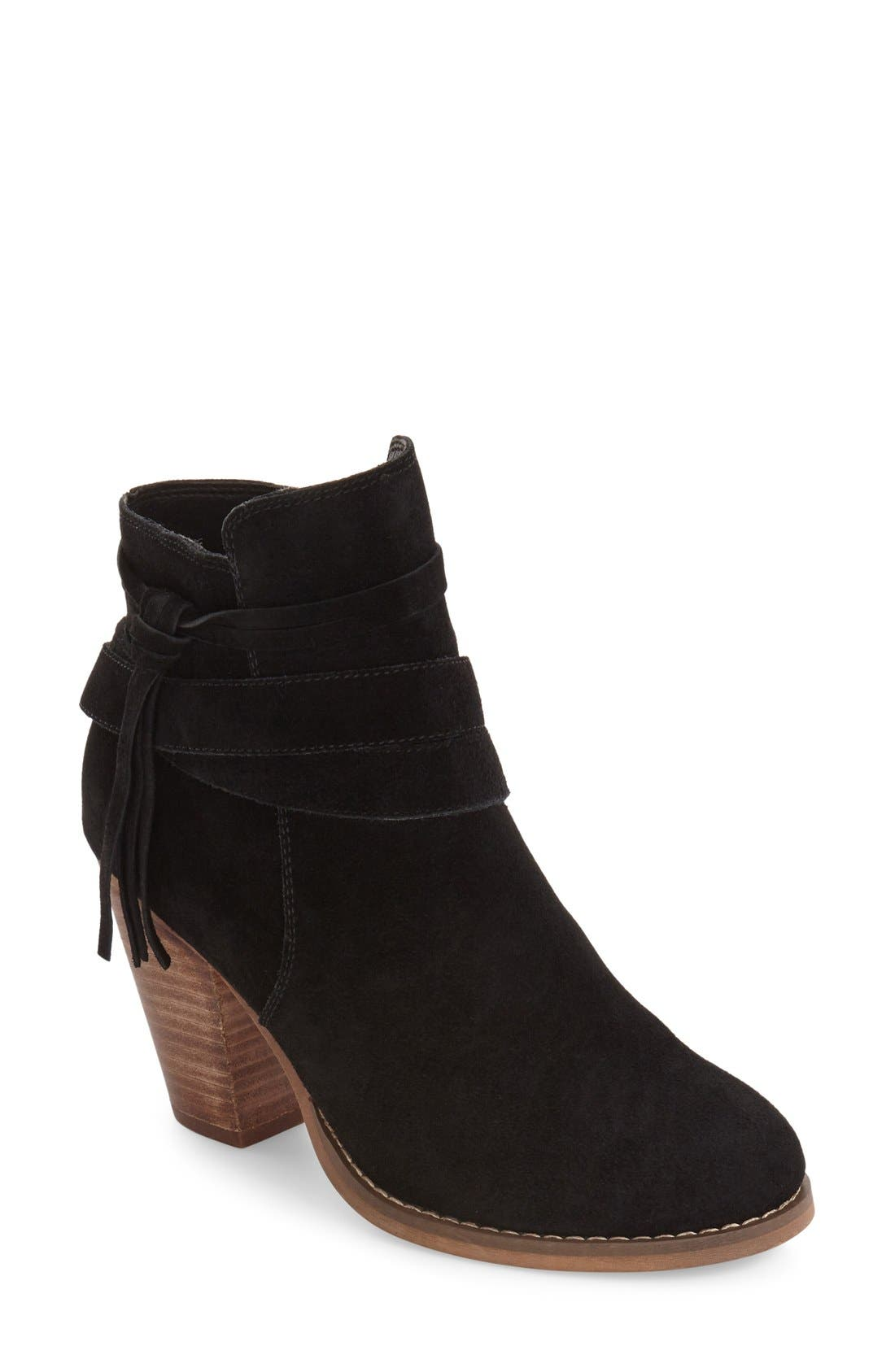Rumi Bootie,                             Main thumbnail 1, color,                             BLACK