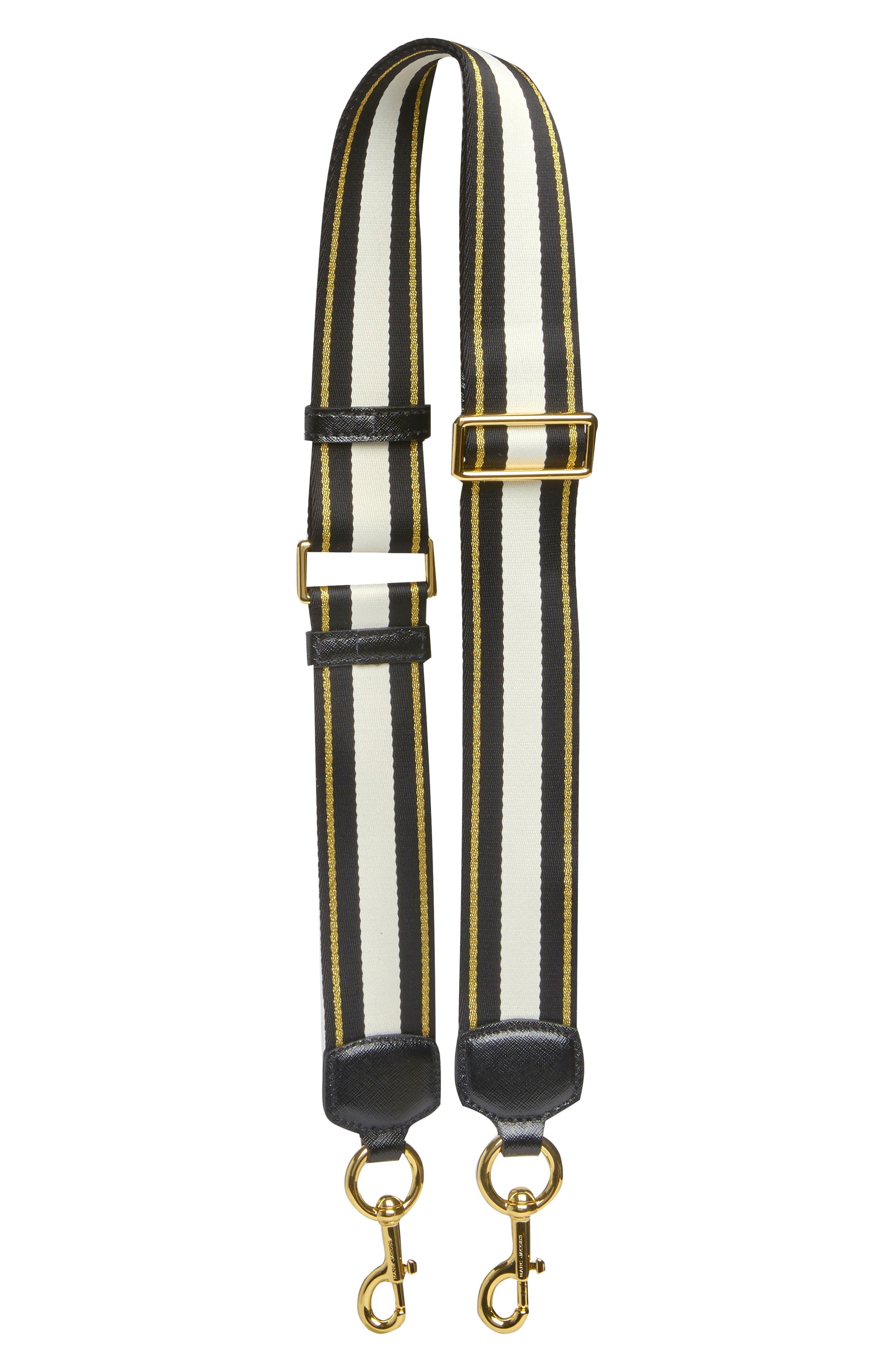 Double Stripe Webbing Strap by Marc Jacobs