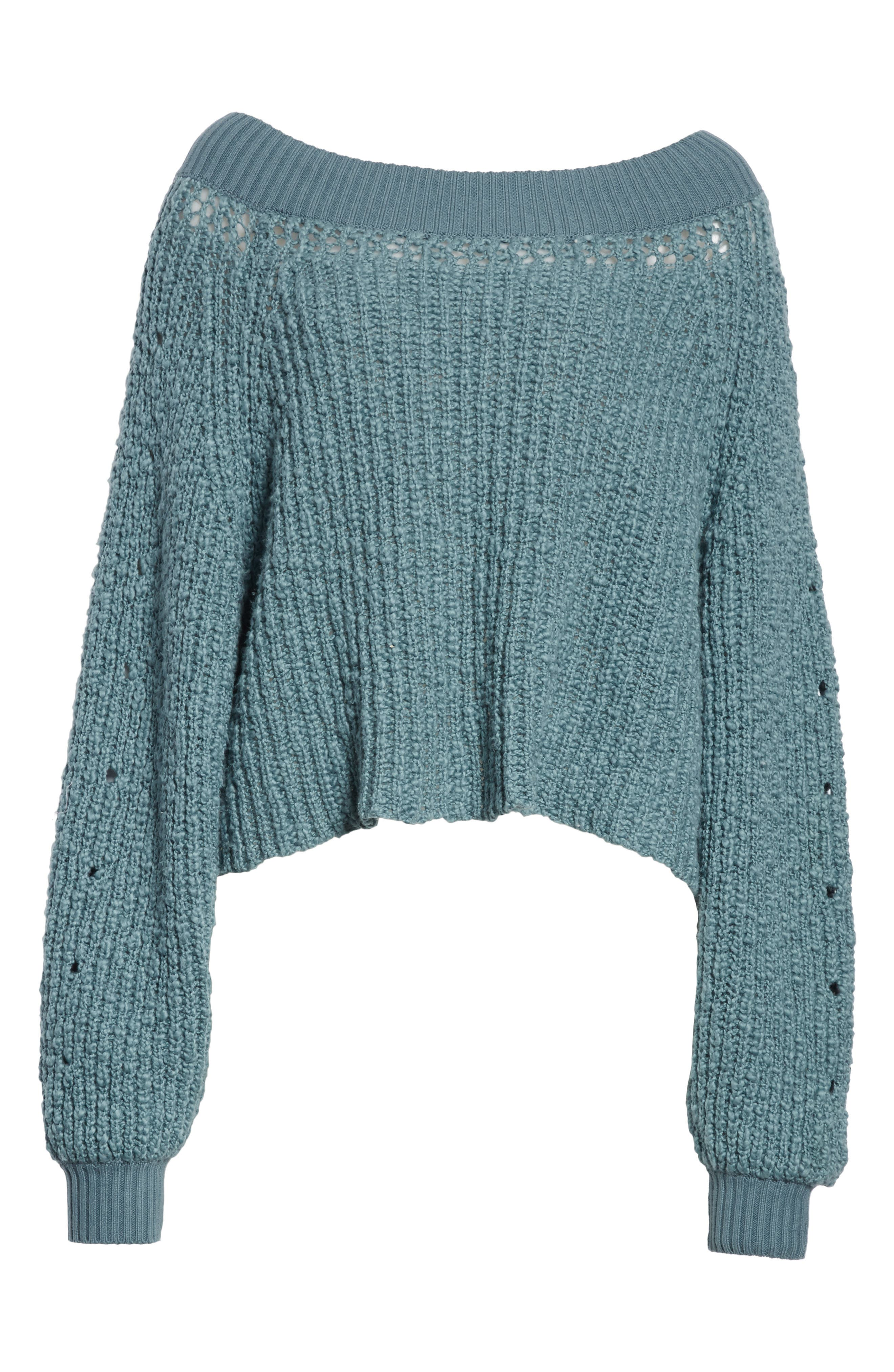Pandora's Boatneck Sweater,                             Alternate thumbnail 22, color,
