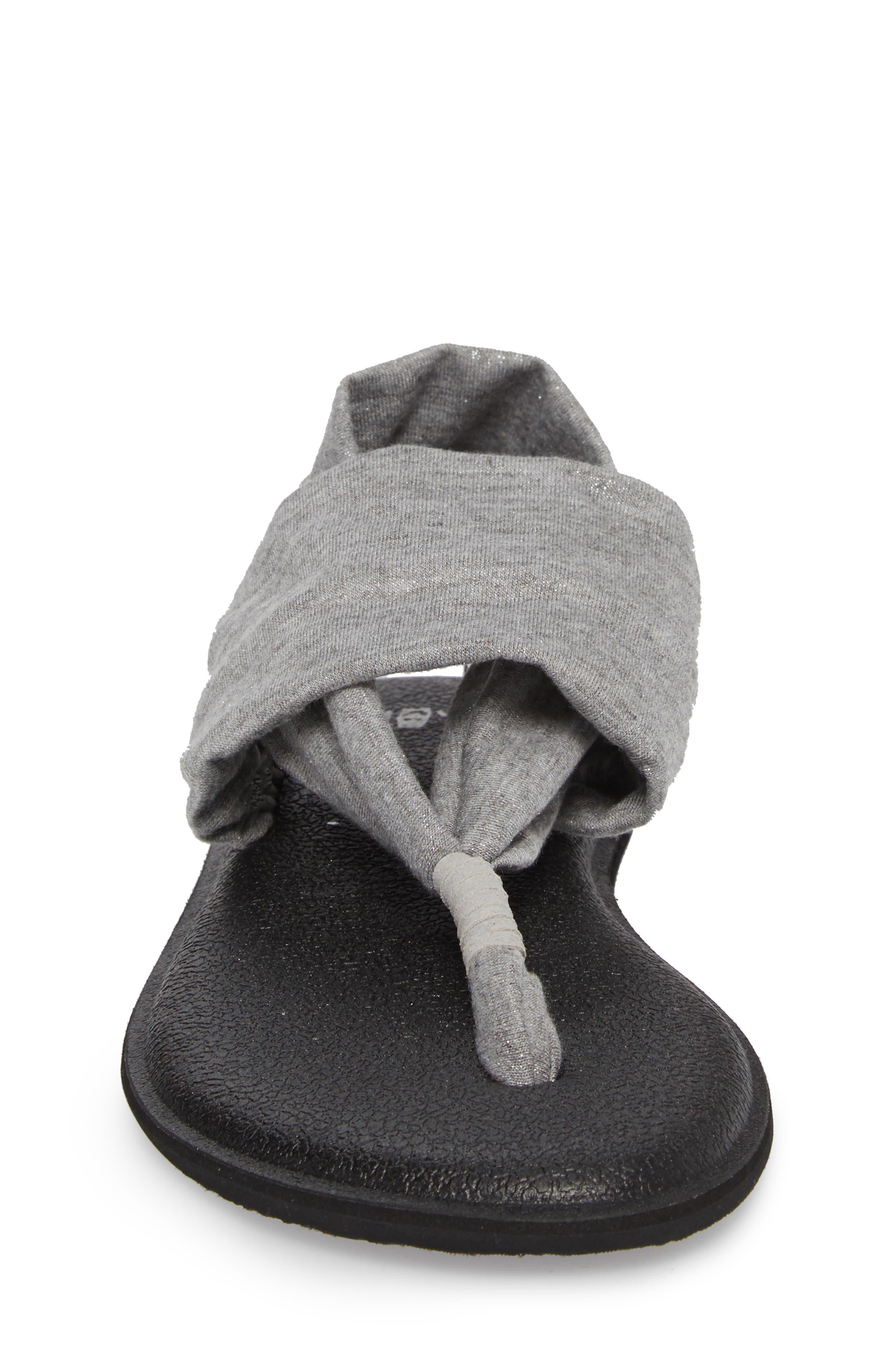 'Yoga Sling Bling' Sandal,                             Alternate thumbnail 4, color,                             042