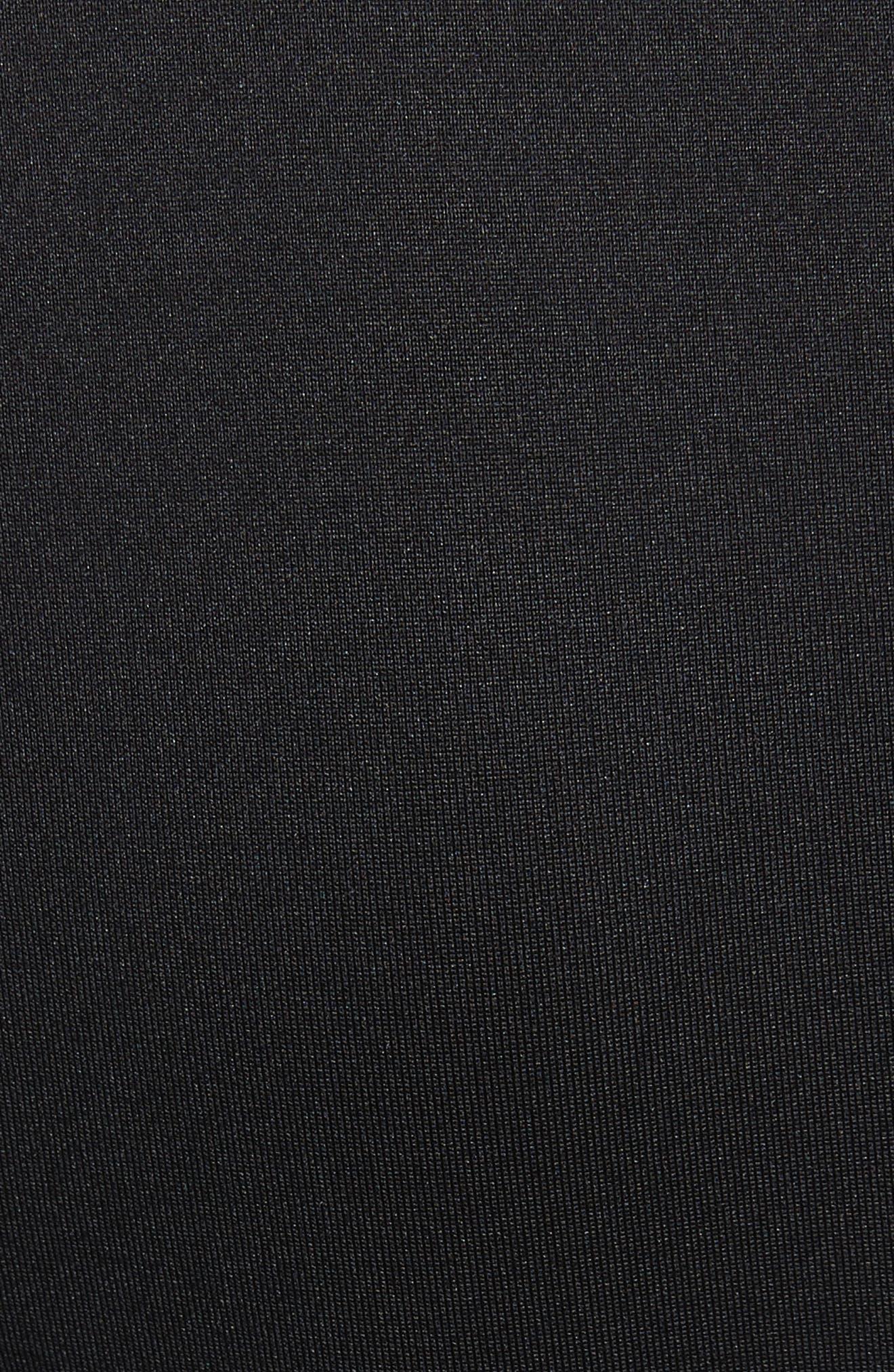 Salnie Cold Shoulder Sheath Dress,                             Alternate thumbnail 5, color,                             001