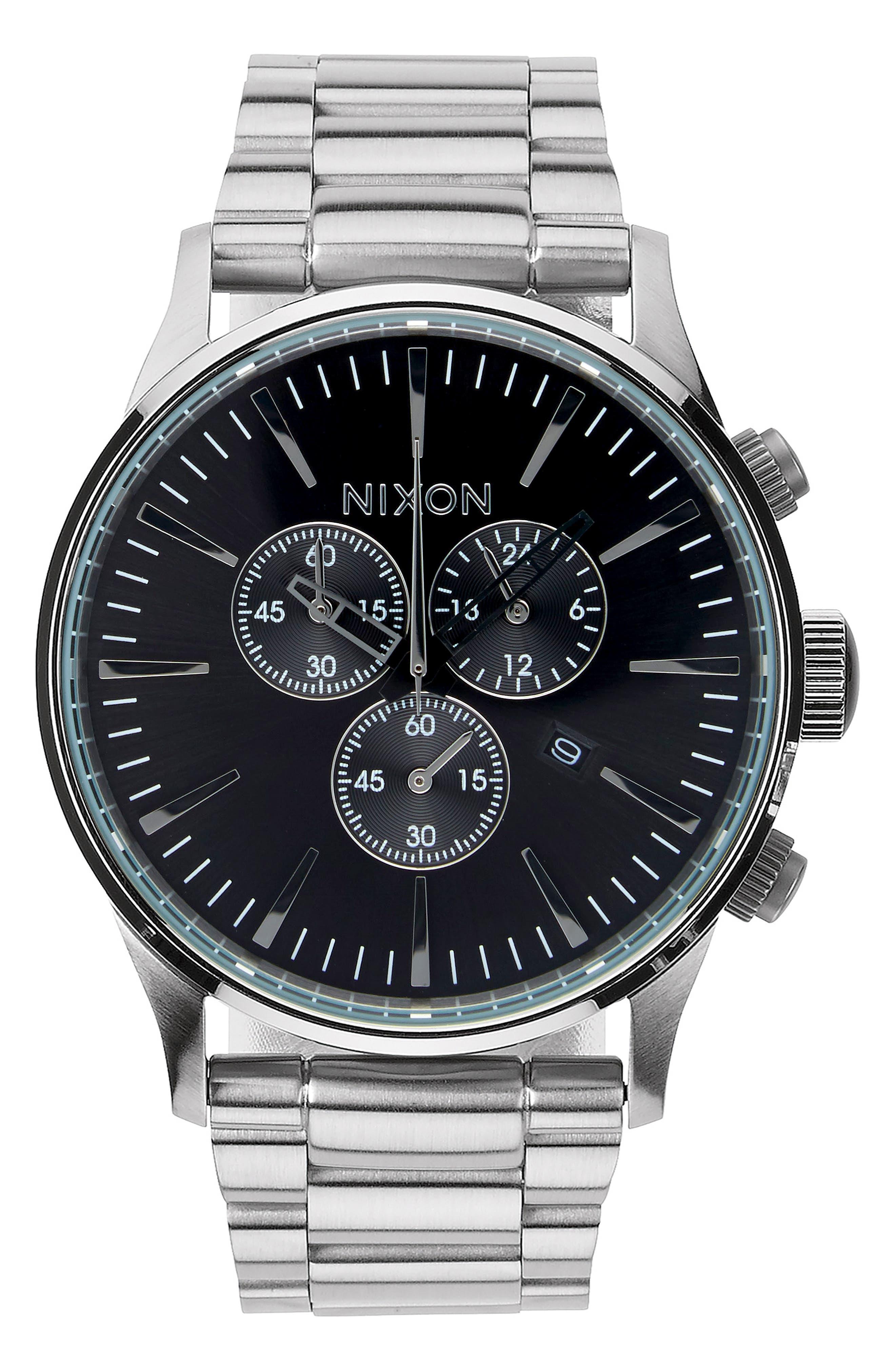 'The Sentry' Chronograph Bracelet Watch, 42mm,                             Main thumbnail 5, color,