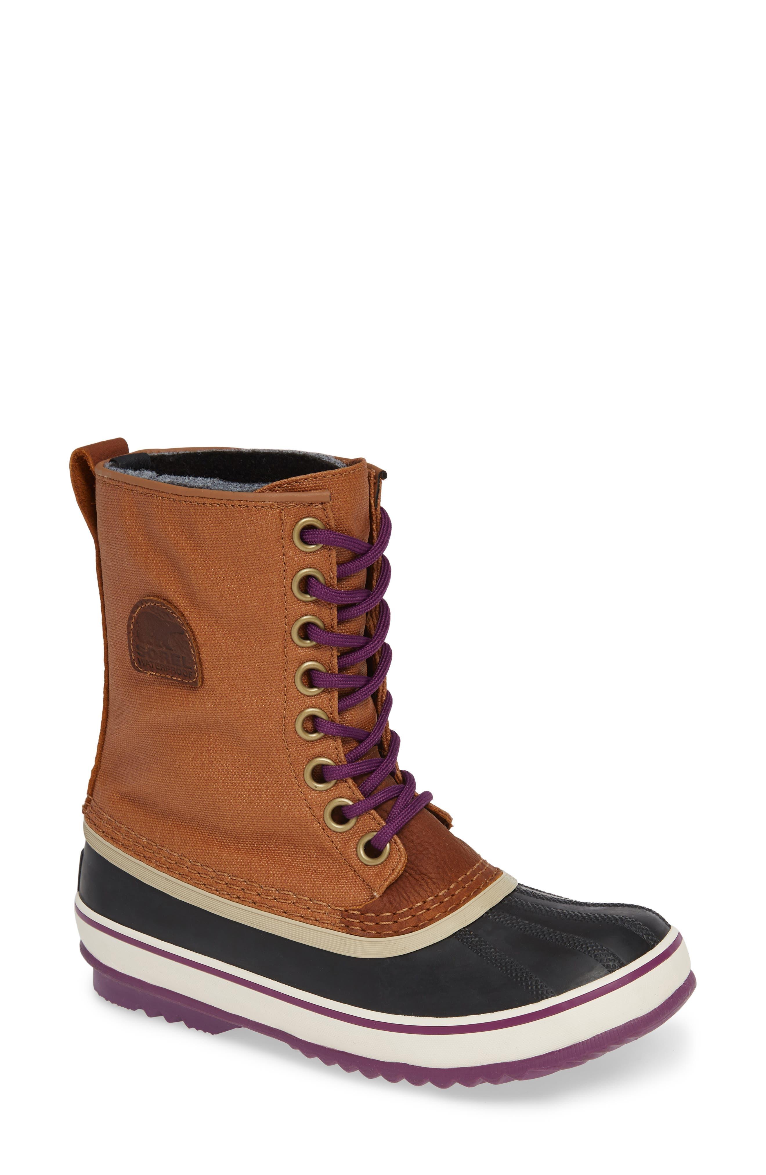 '1964 Premium' Waterproof Boot,                         Main,                         color, CAMEL BROWN