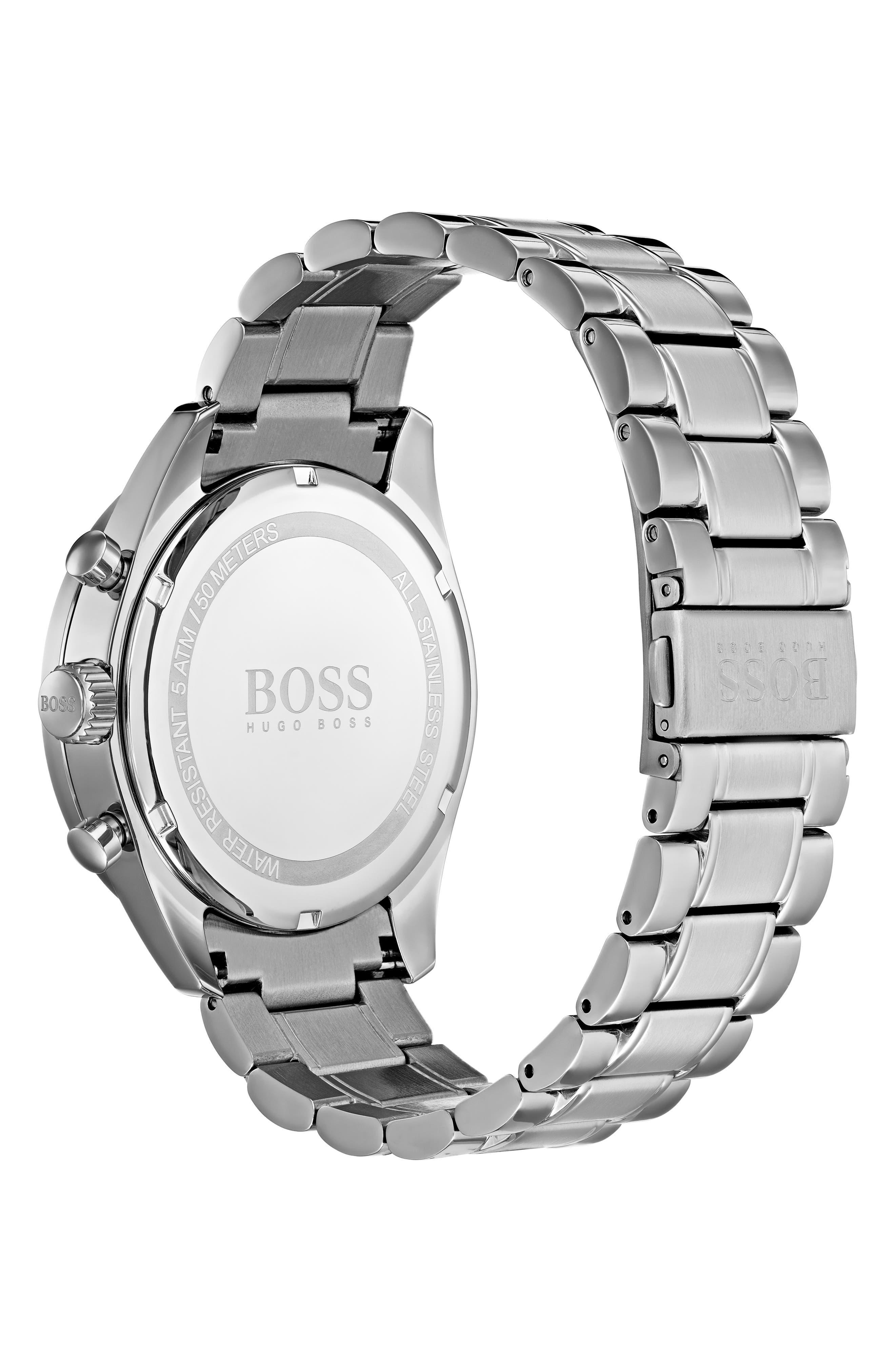 Trophy Chronograph Bracelet Watch, 44mm,                             Alternate thumbnail 2, color,                             BLUE