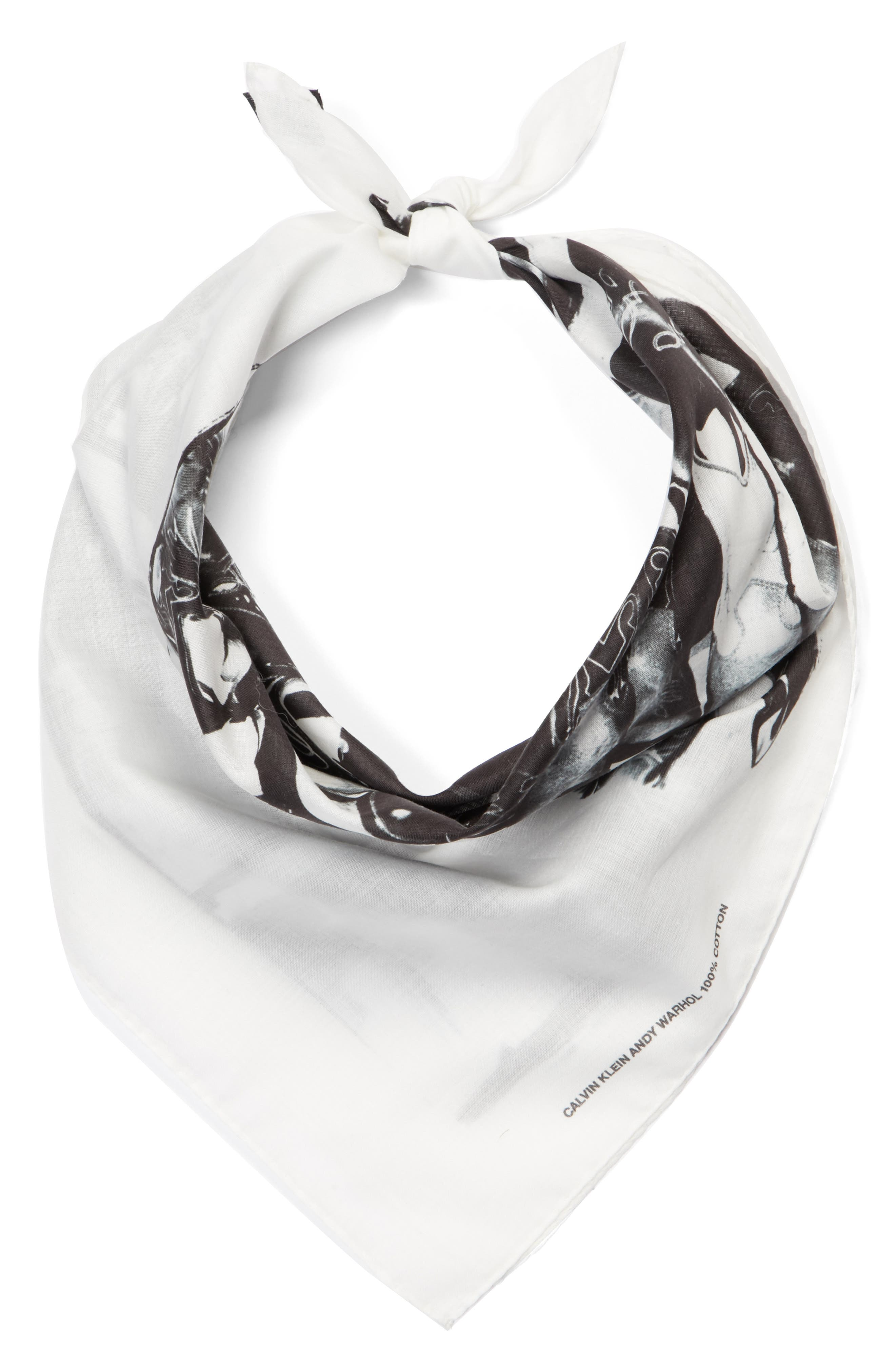 x Andy Warhol Foundation Boots Scarf,                             Alternate thumbnail 3, color,                             152