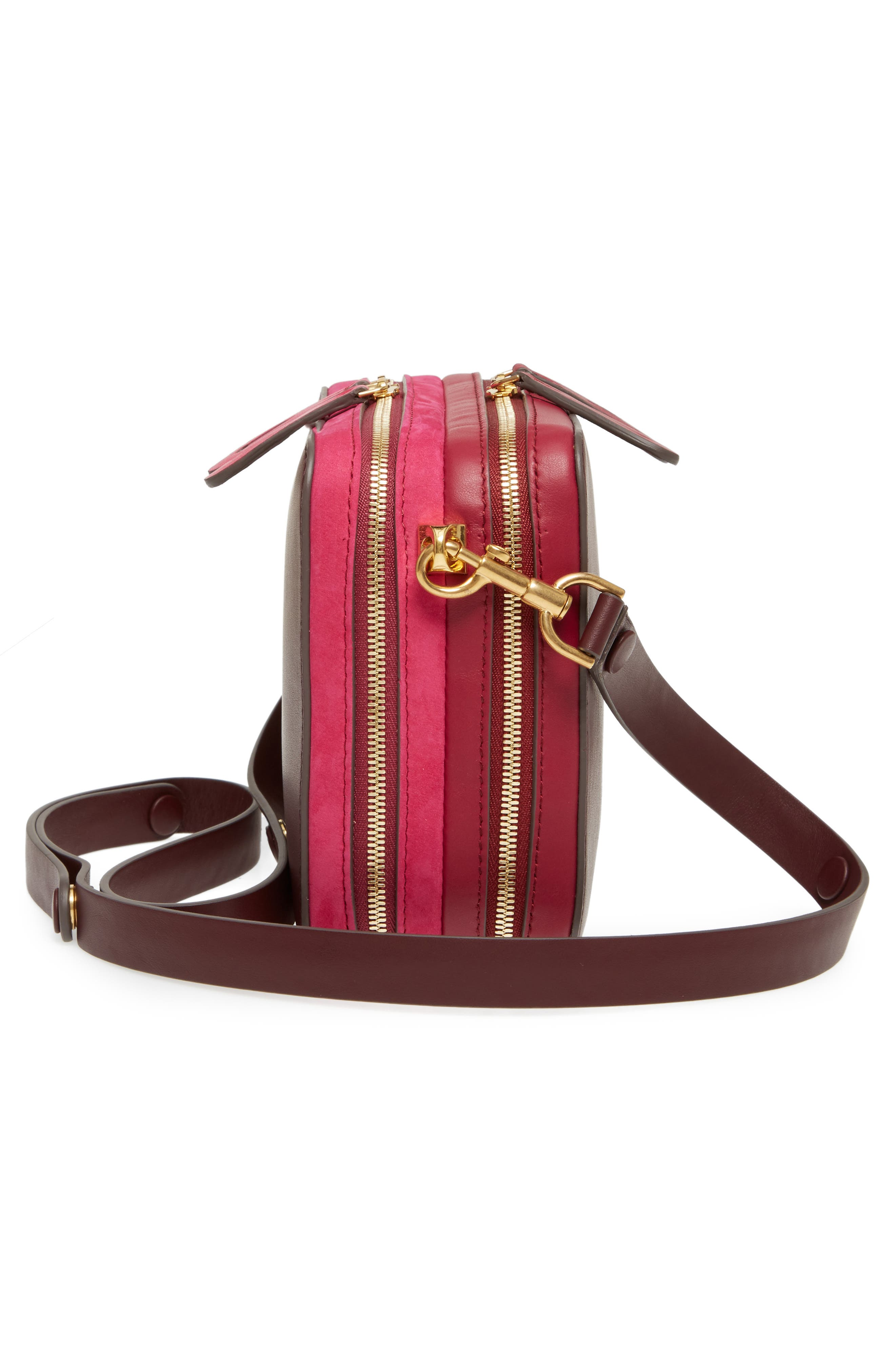 The Stack Leather Crossbody Bag,                             Alternate thumbnail 10, color,