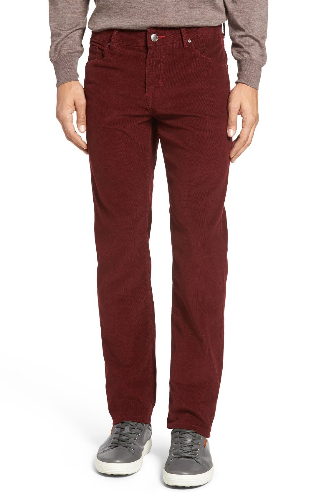 Slim Fit Corduroy Pants,                             Main thumbnail 6, color,