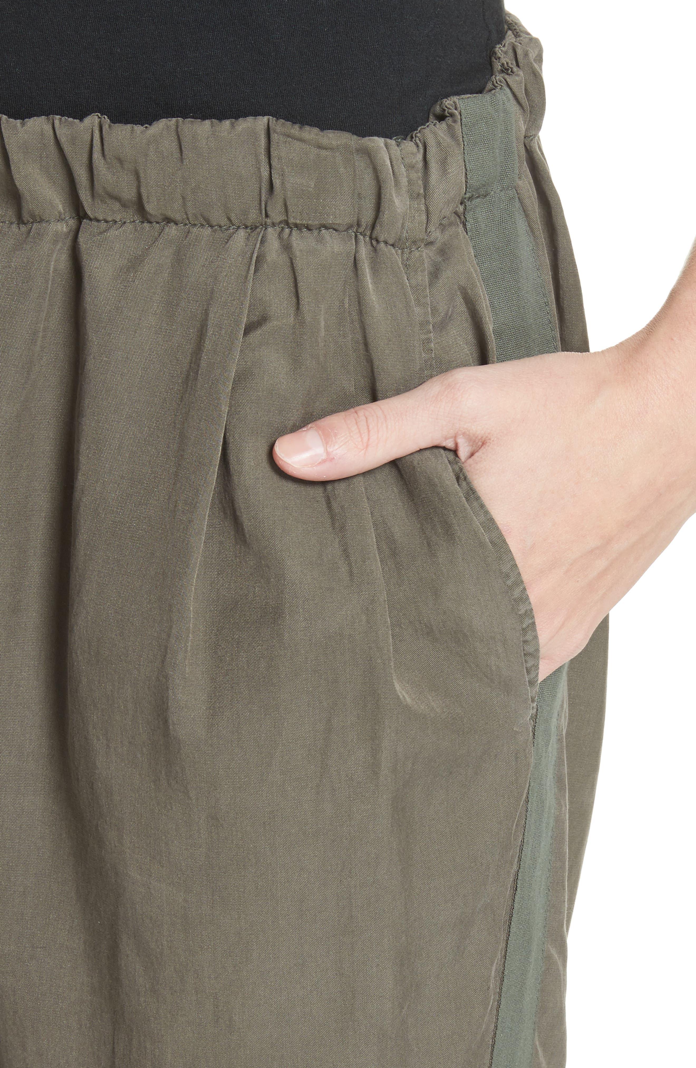 Silk Blend Track Pants,                             Alternate thumbnail 4, color,                             346