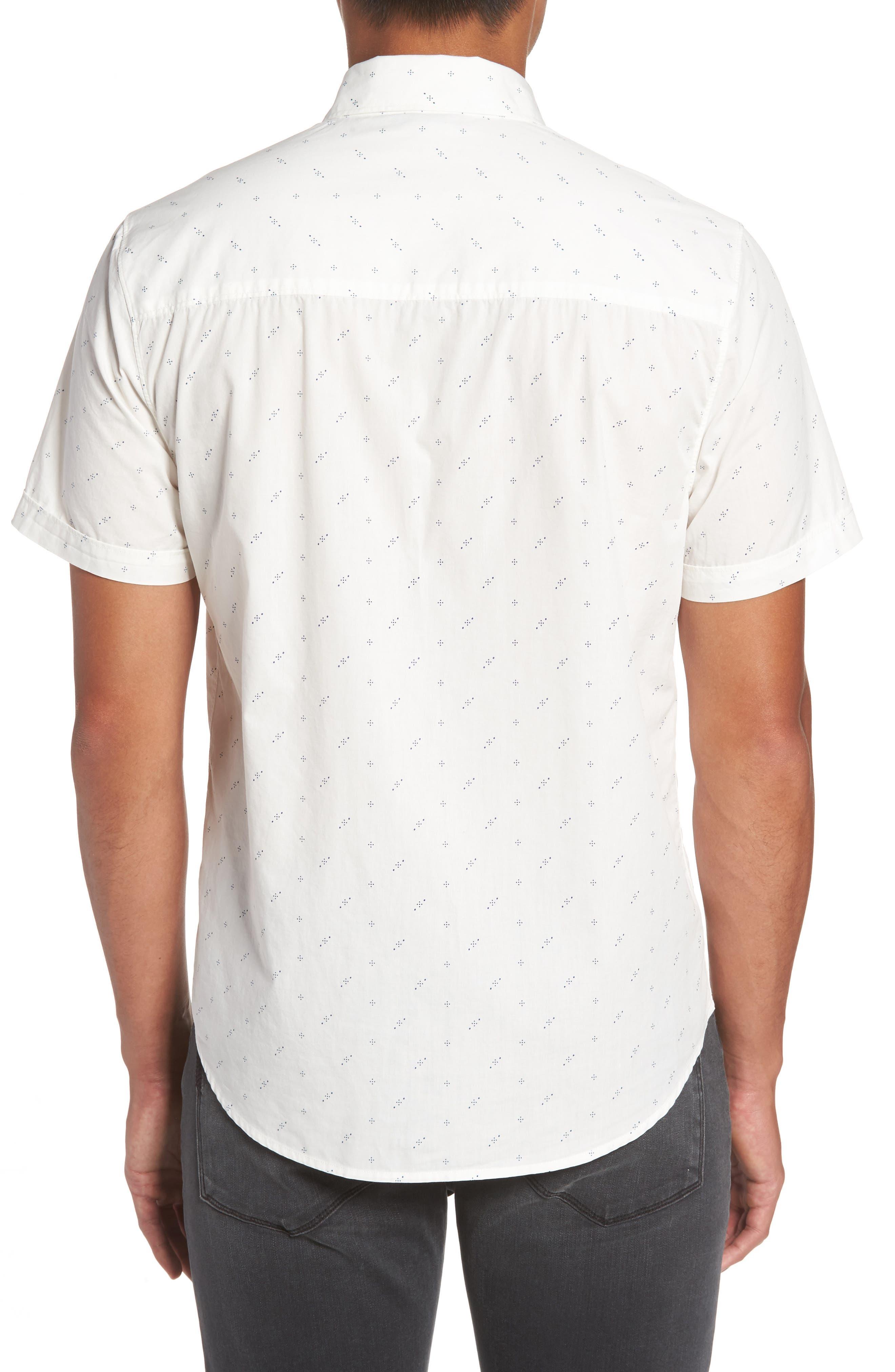 Becker Dot Print Woven Shirt,                             Alternate thumbnail 2, color,                             140