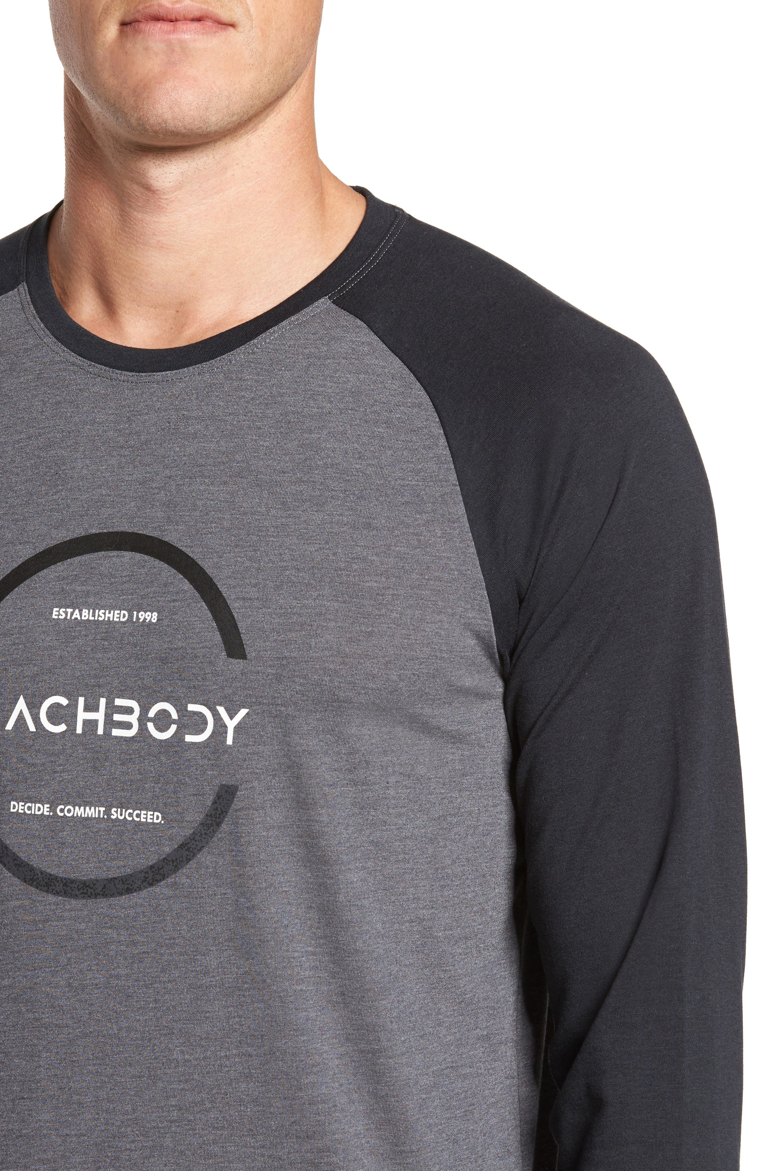 Go-To Infinity Long Sleeve T-Shirt,                             Alternate thumbnail 4, color,                             020