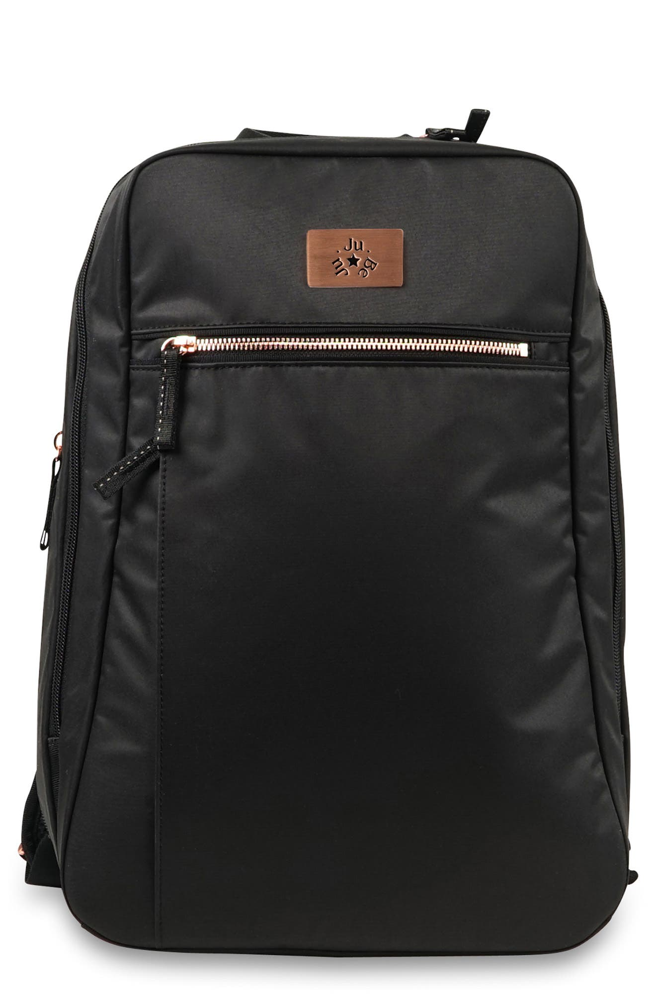 JU-JU-BE,                             Ballad Backpack,                             Main thumbnail 1, color,                             BLACK ROSE