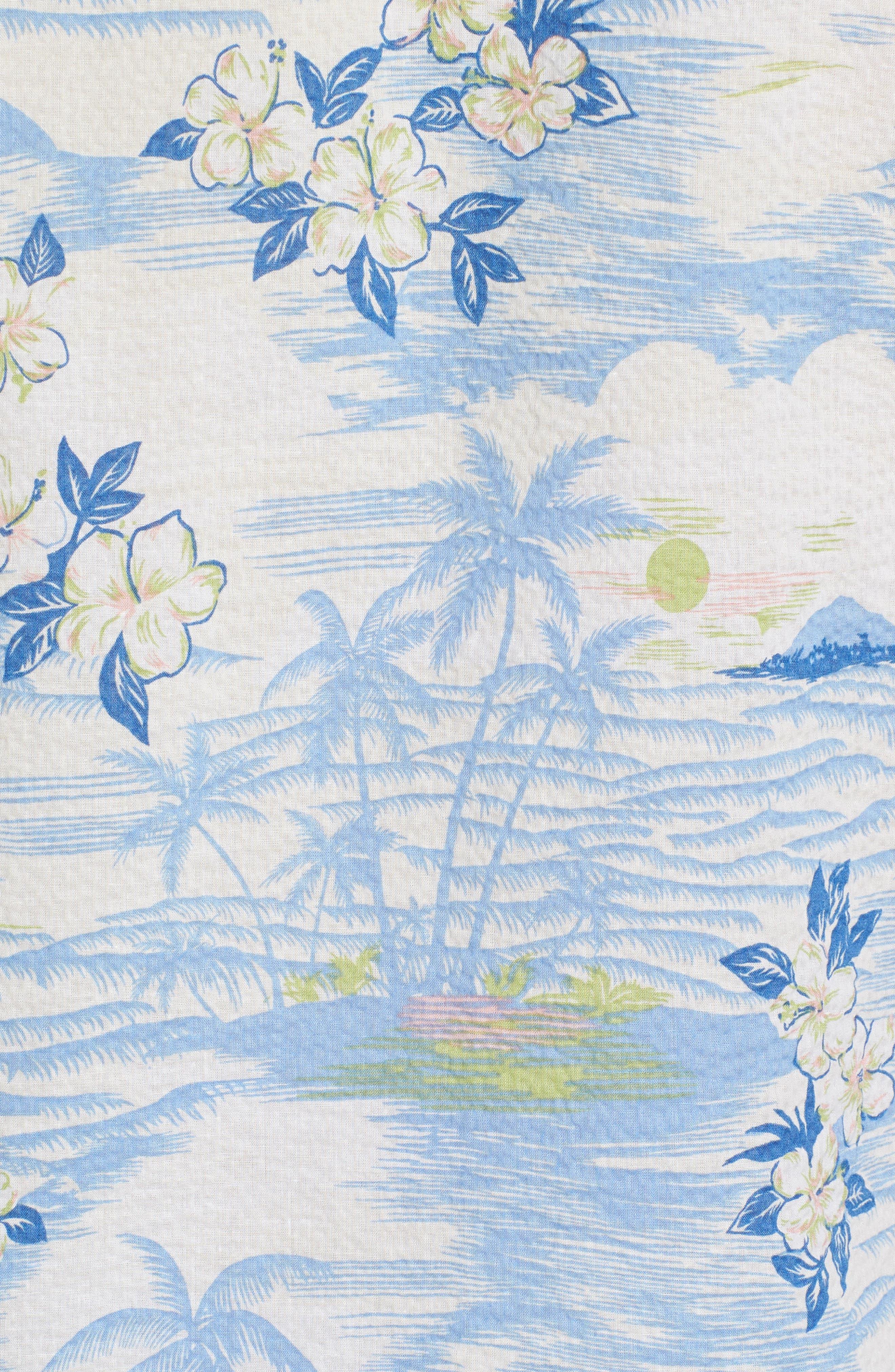 Tropic Dream Lawn Sport Shirt,                             Alternate thumbnail 5, color,                             409