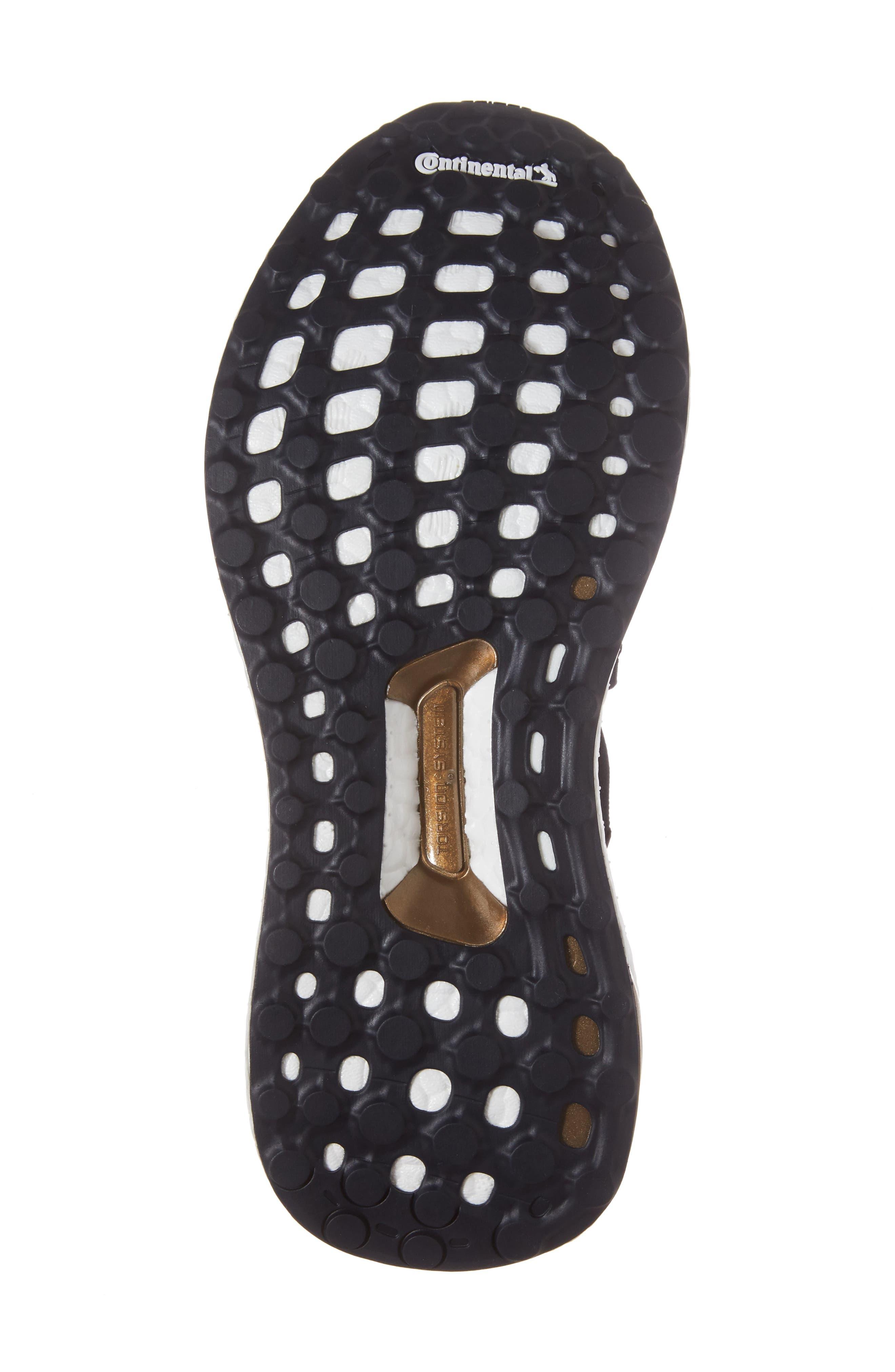 by Stella McCartney UltraBoost X Primeknit Mid Sneaker,                             Alternate thumbnail 6, color,                             400